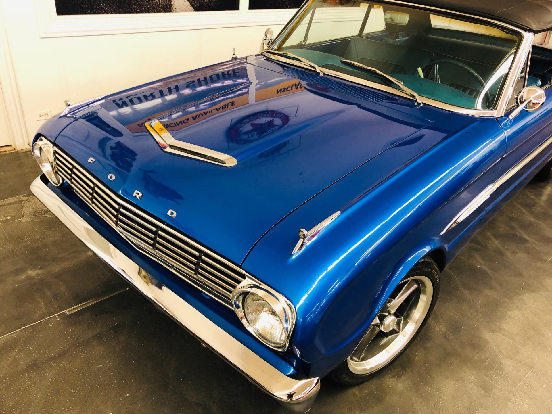 1963 Ford Falcon -FUTURA-BLUE ANGEL-4 WHEEL DISC- CONVERTIBLE