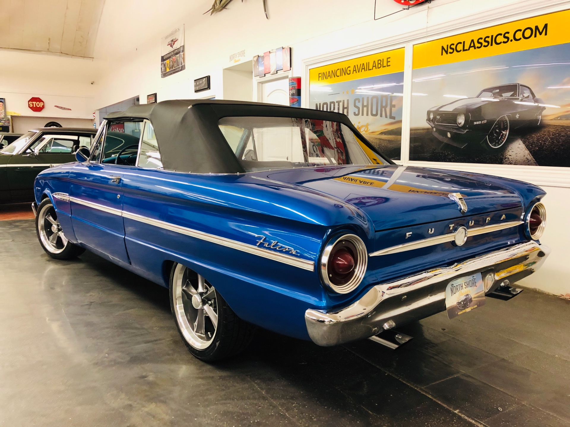 Used 1963 Ford Falcon -FUTURA-BLUE ANGEL-4 WHEEL DISC- CONVERTIBLE CLASSIC-SEE VIDEO | Mundelein, IL