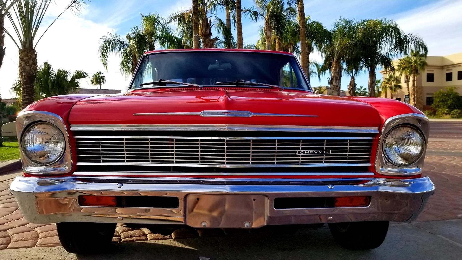 Used 1966 Chevrolet Nova -Red N Ready | Mundelein, IL