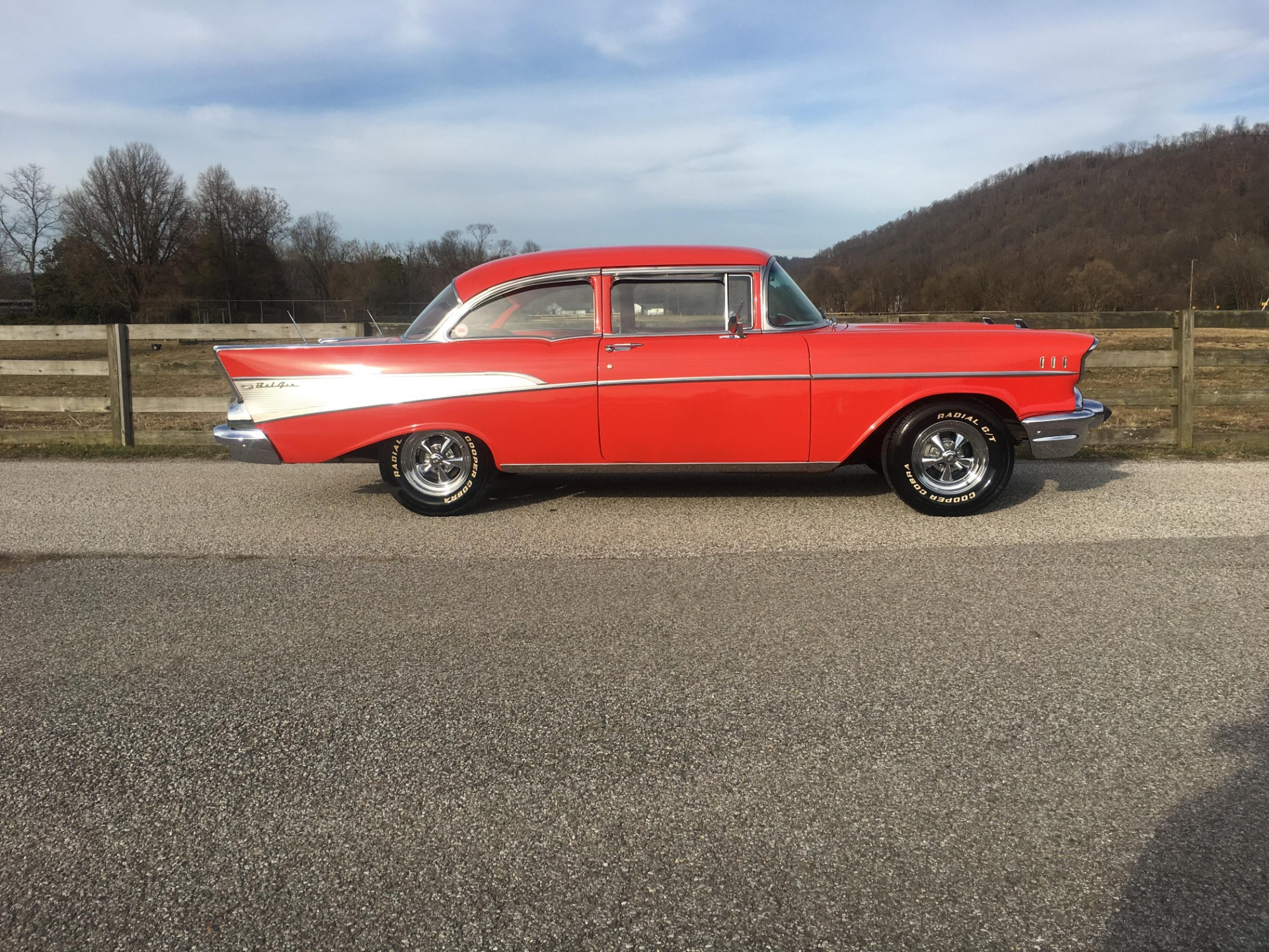 Used 1957 Chevrolet Bel Air -AIR CONDITIONING-700 R4 TRANS-DRIVER READY-VIDEO | Mundelein, IL