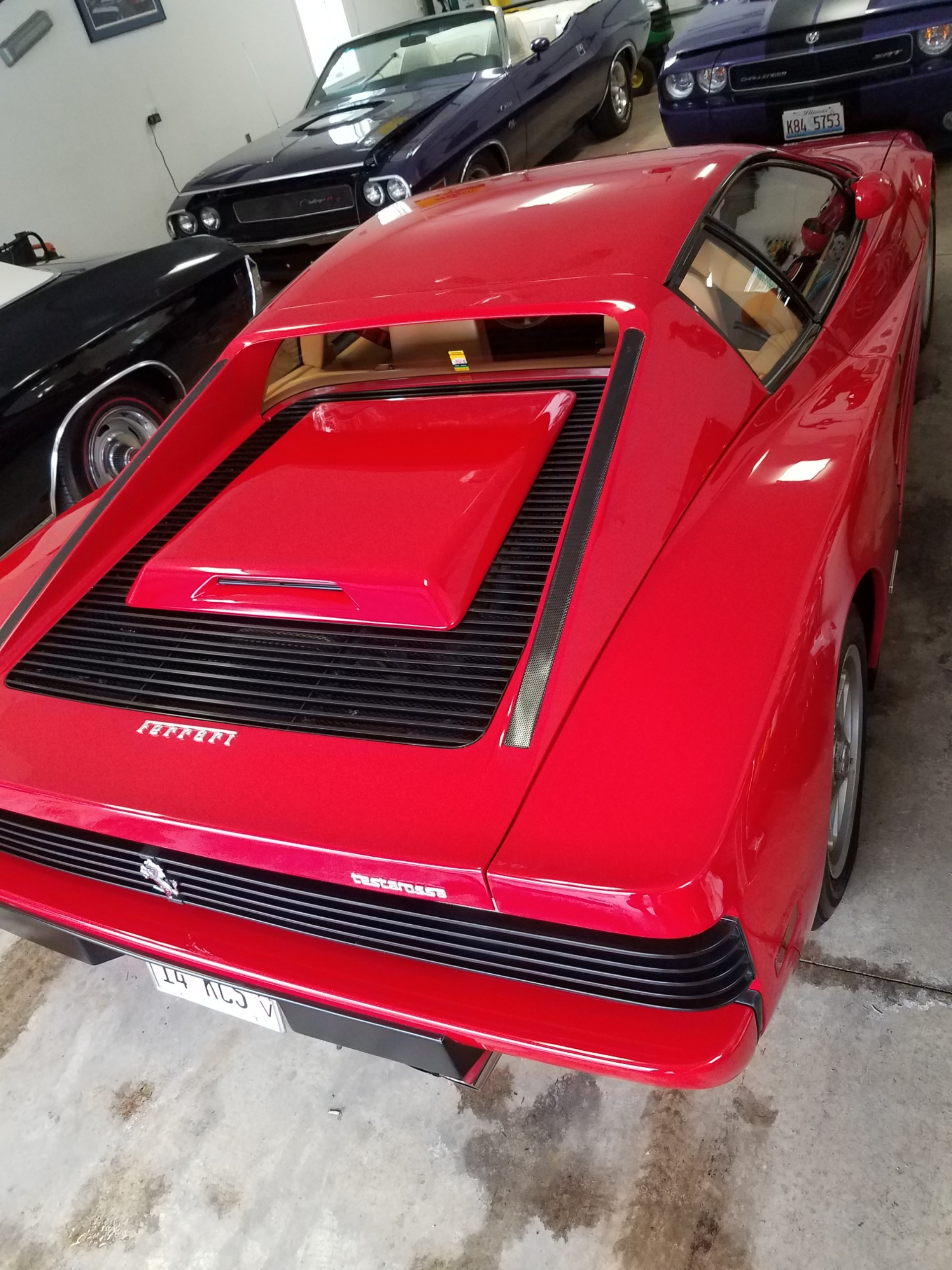 Used 1987 Ferrari Testarossa -CLASSIC SUPERCAR - FULLY SERVICED - VERY LOW MILES - | Mundelein, IL