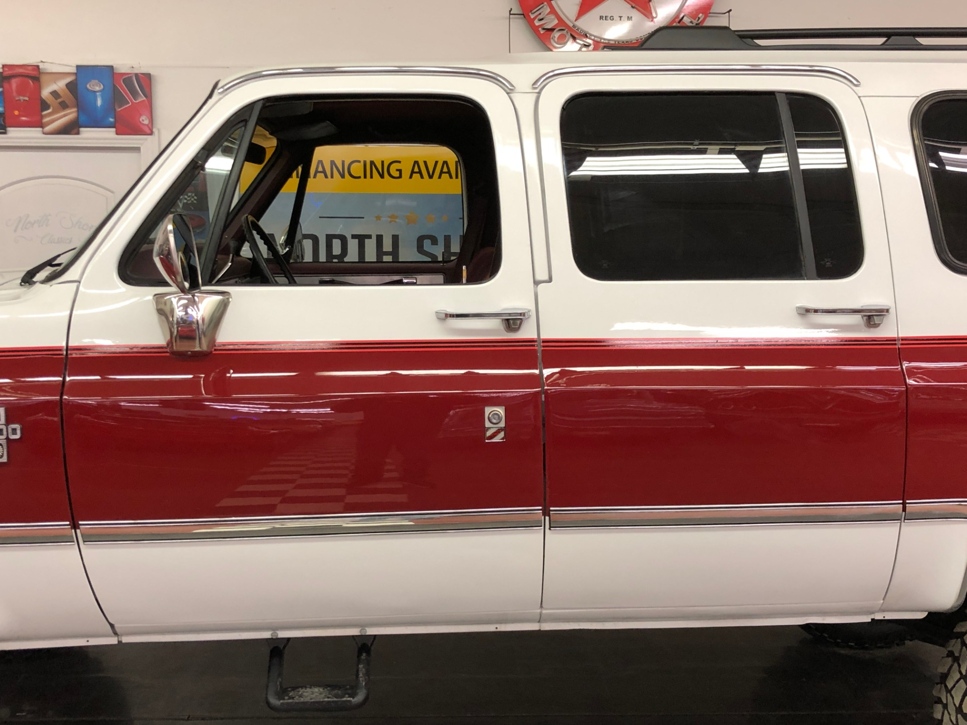 Used 1988 Chevrolet Suburban -Silverado Package-Air conditioning-4X4-3rd Row- VIDEO | Mundelein, IL