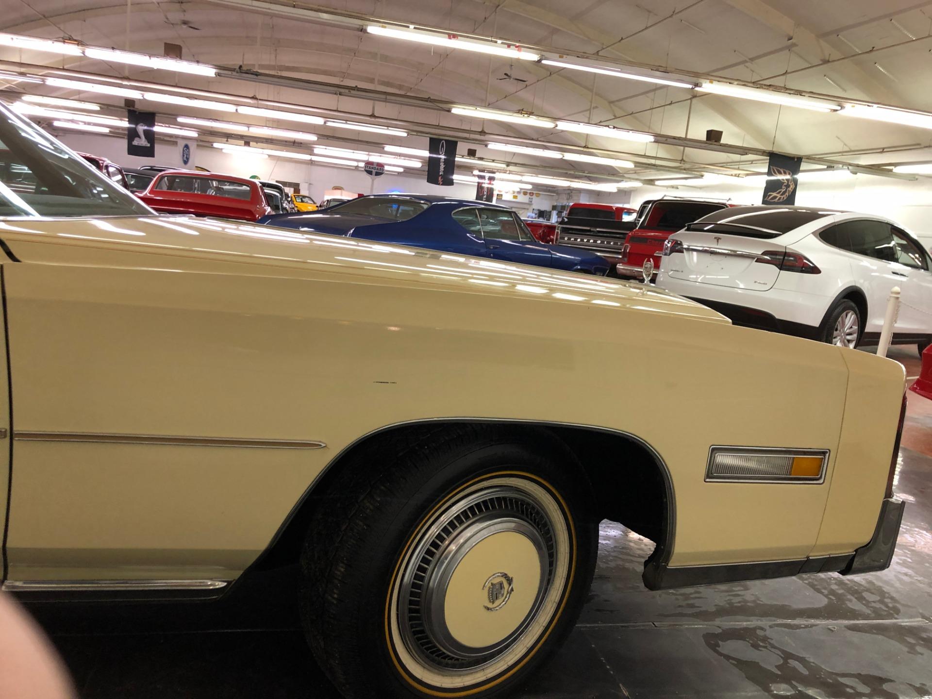 Used 1976 Cadillac Eldorado -500 CID-GREAT CLASSIC CONVERTIBLE-LOW MILES-VIDEO | Mundelein, IL
