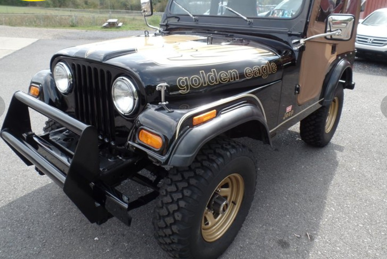 Used 1978 Jeep CJ-5 -GOLDEN EAGLE-SOFT TOP-FIBERGLASS BODY-304 V8- DOCUMENTED | Mundelein, IL