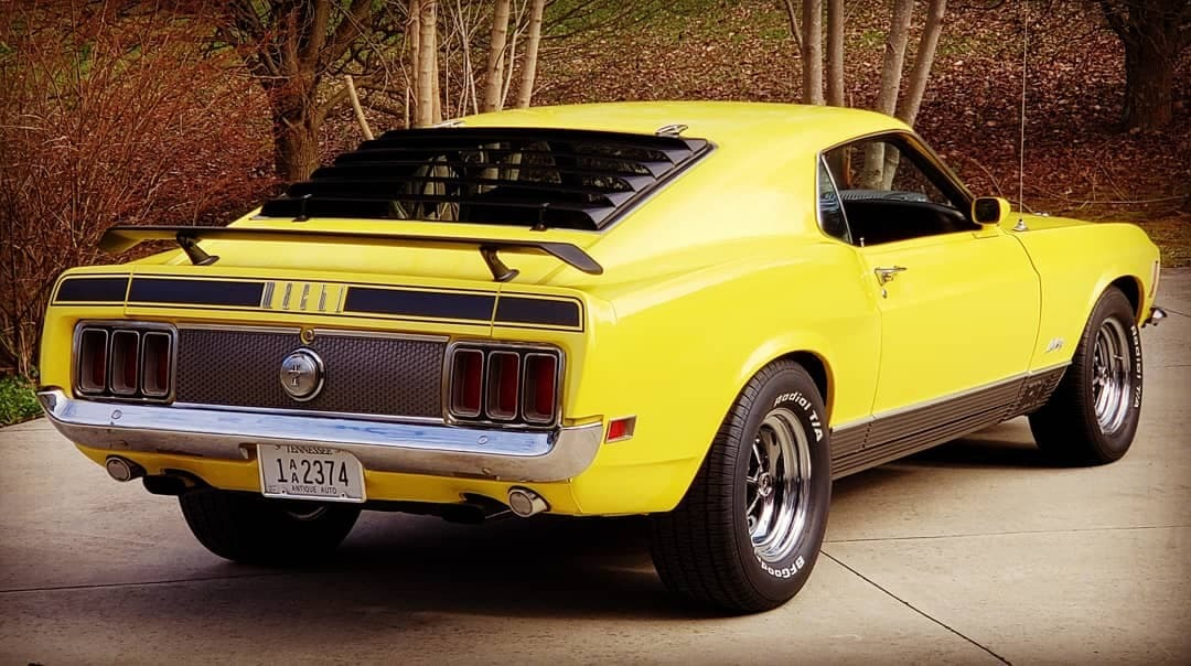 Used 1970 Ford Mustang -MACH 1 -R CODE 428 COBRA JET- 77,000 ACTUAL MILES-MANY OPTIONS- | Mundelein, IL