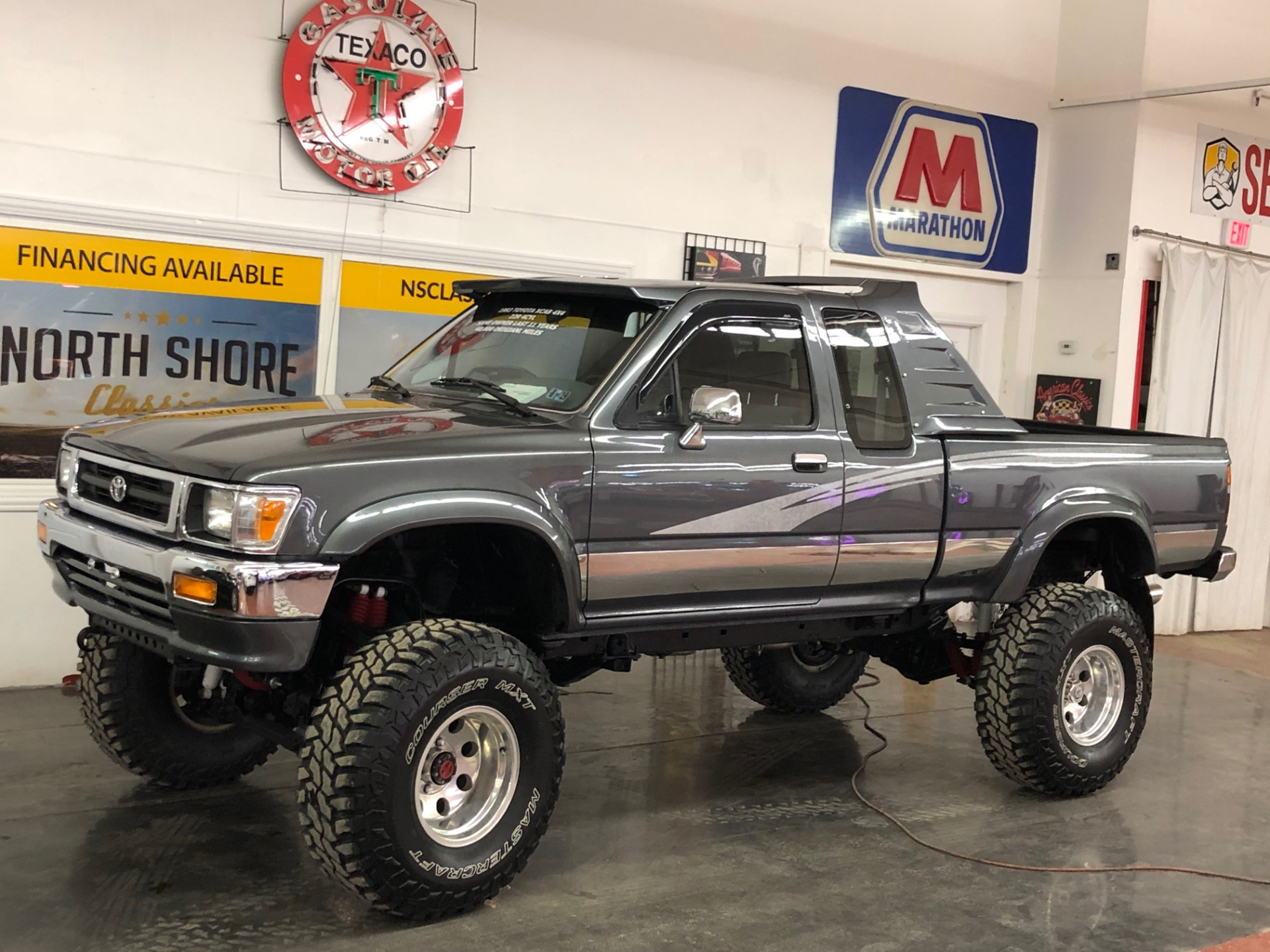 Toyota Pickup 4x4 >> 1993 Toyota Pickup 4x4 Lifted 40 250 Actual Miles New Tires Video