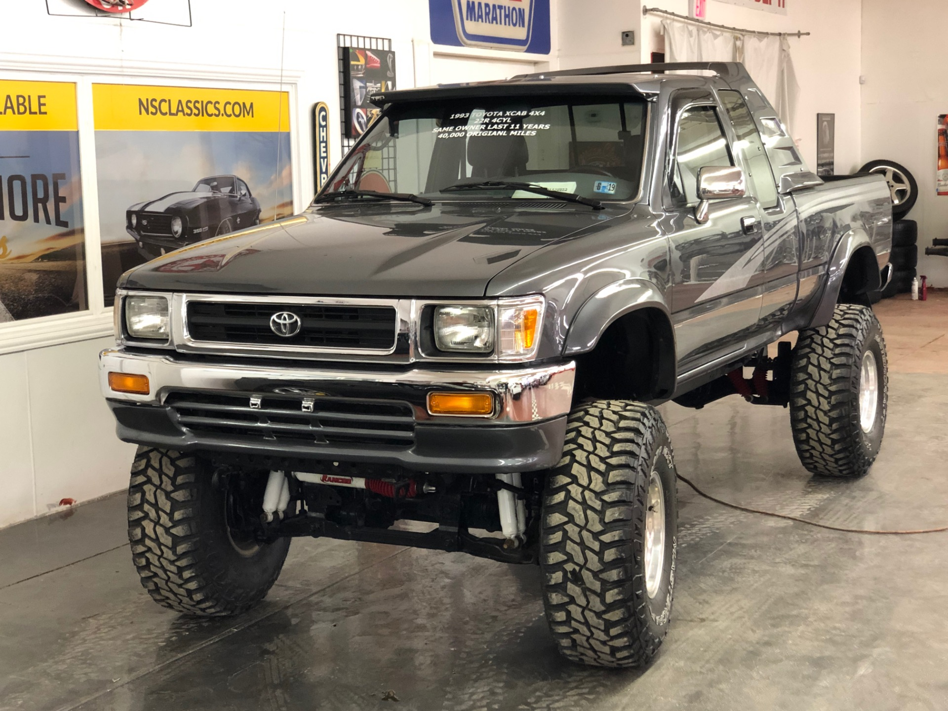Used 1993 Toyota Pickup -4X4 LIFTED-40,250 ACTUAL MILES-NEW TIRES-VIDEO   Mundelein, IL