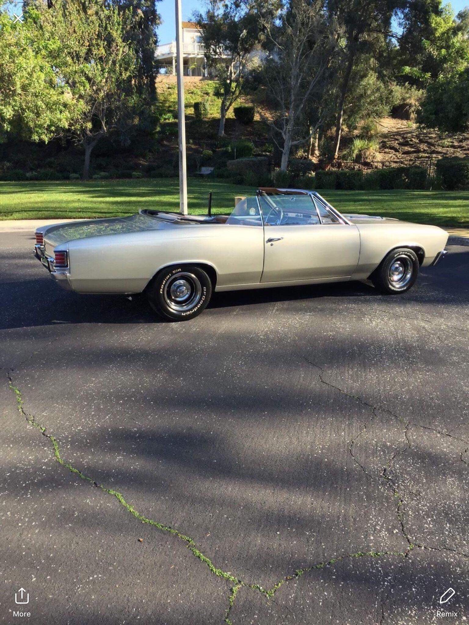 Used 1967 Chevrolet Chevelle -RESTORED CONVERTIBLE-454 ENGINE-AIR CONDITIONING- | Mundelein, IL