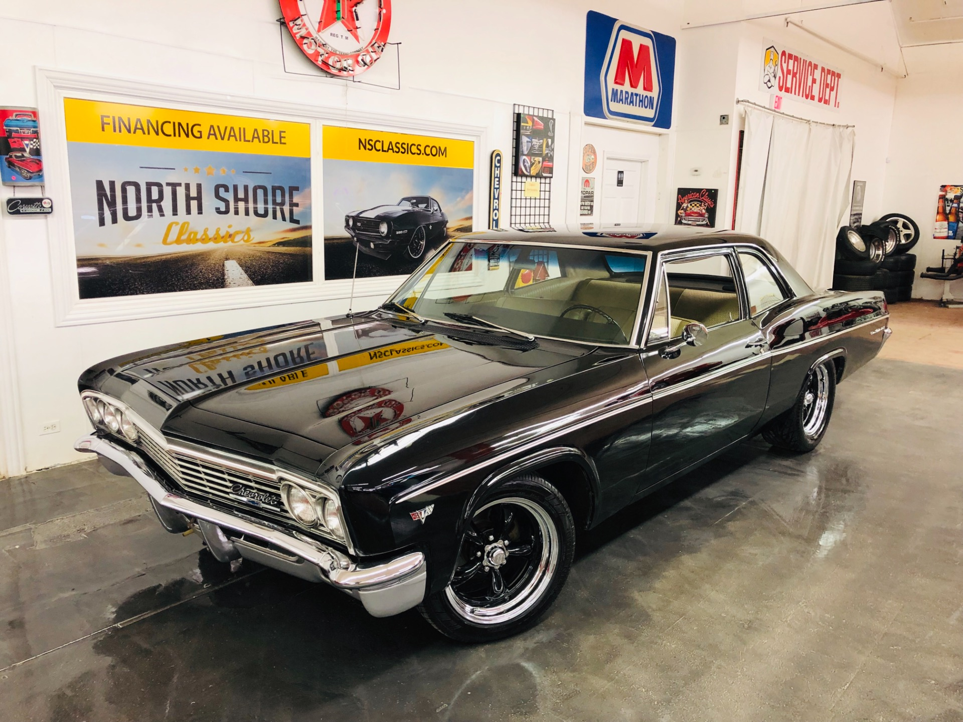 Used 1966 Chevrolet Bel Air -Rare Muscle Car-Big Block 454-5 Speed Transmission-Sleeper Style-VIDEO | Mundelein, IL