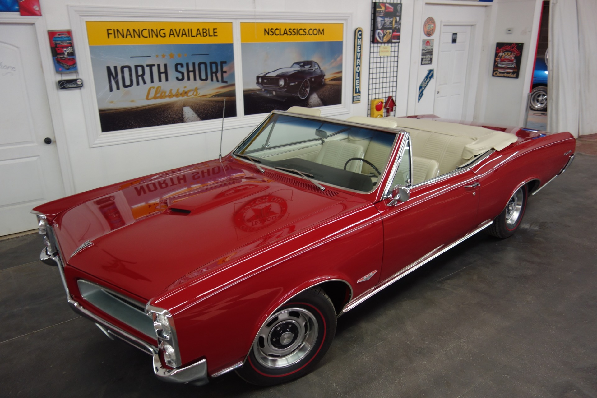 Used 1966 Pontiac GTO -CONVERTIBLE-389 TRI POWER- REAL 242 VIN -5 SPEED CLASSIC MUSCLE -SEE VIDEO | Mundelein, IL