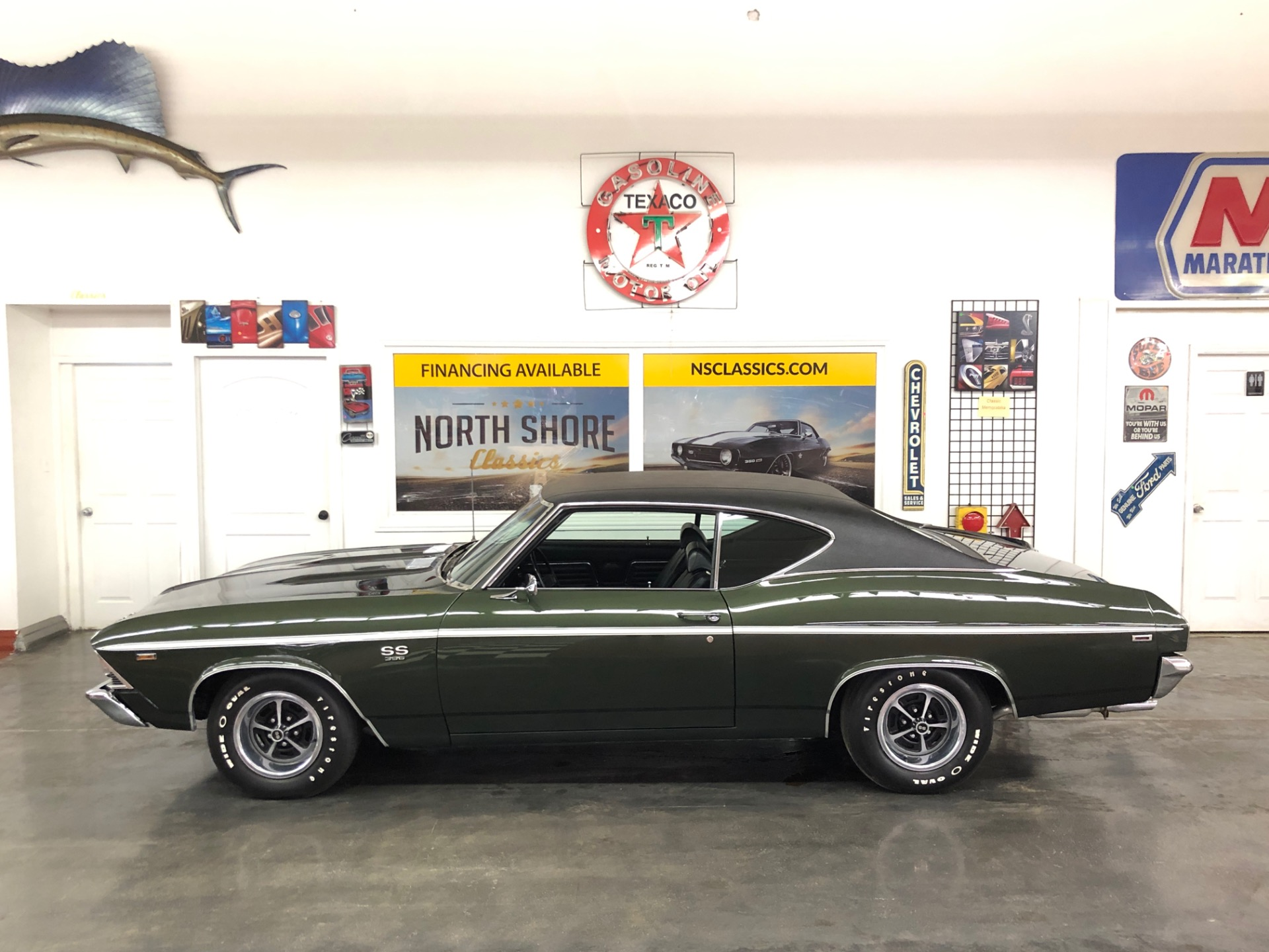 Used 1969 Chevrolet Chevelle -SS396-FATHOM GREEN-NUMBERS MATCHING - HIGH END RESTORATION-SEE VIDEO | Mundelein, IL