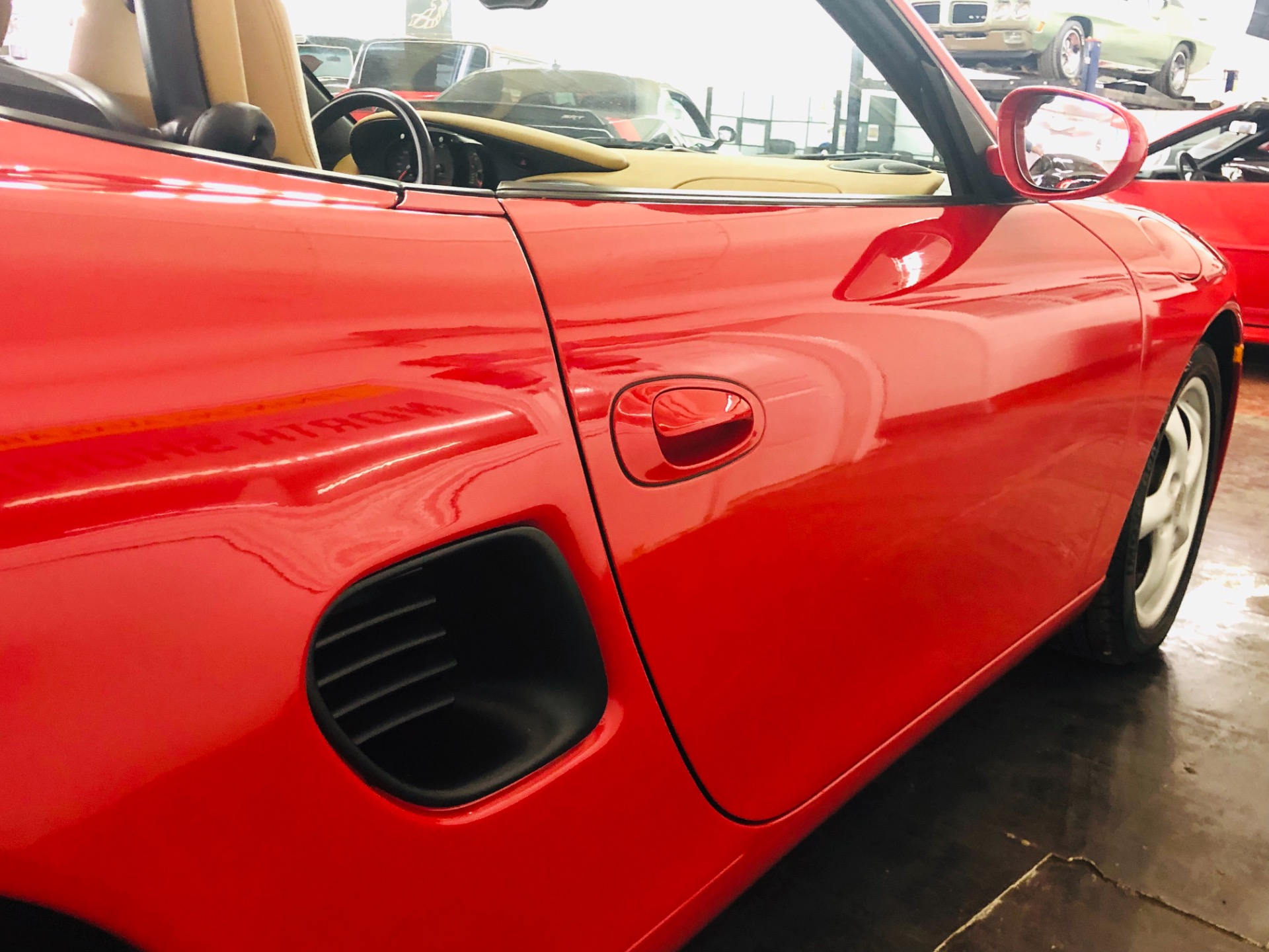 Used 1999 Porsche Boxster -CONVERTIBLE-LOW MILES-CLEAN CARFAX- RED AND SHARP!-SEE VIDEO | Mundelein, IL