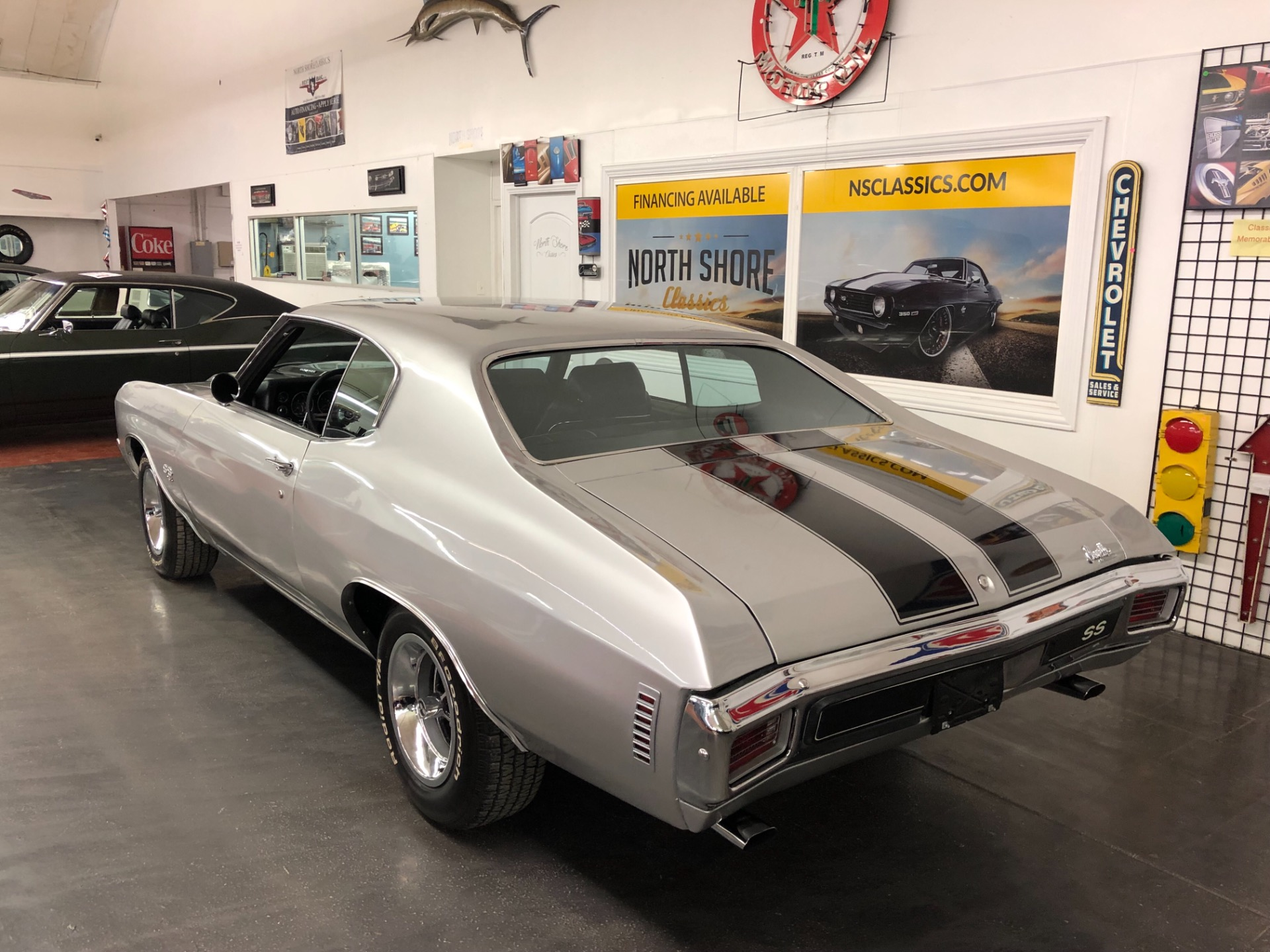Used 1970 Chevrolet Chevelle SS 396-BIG BLOCK WITH 4 SPEED-CORTEZ SILVER- | Mundelein, IL