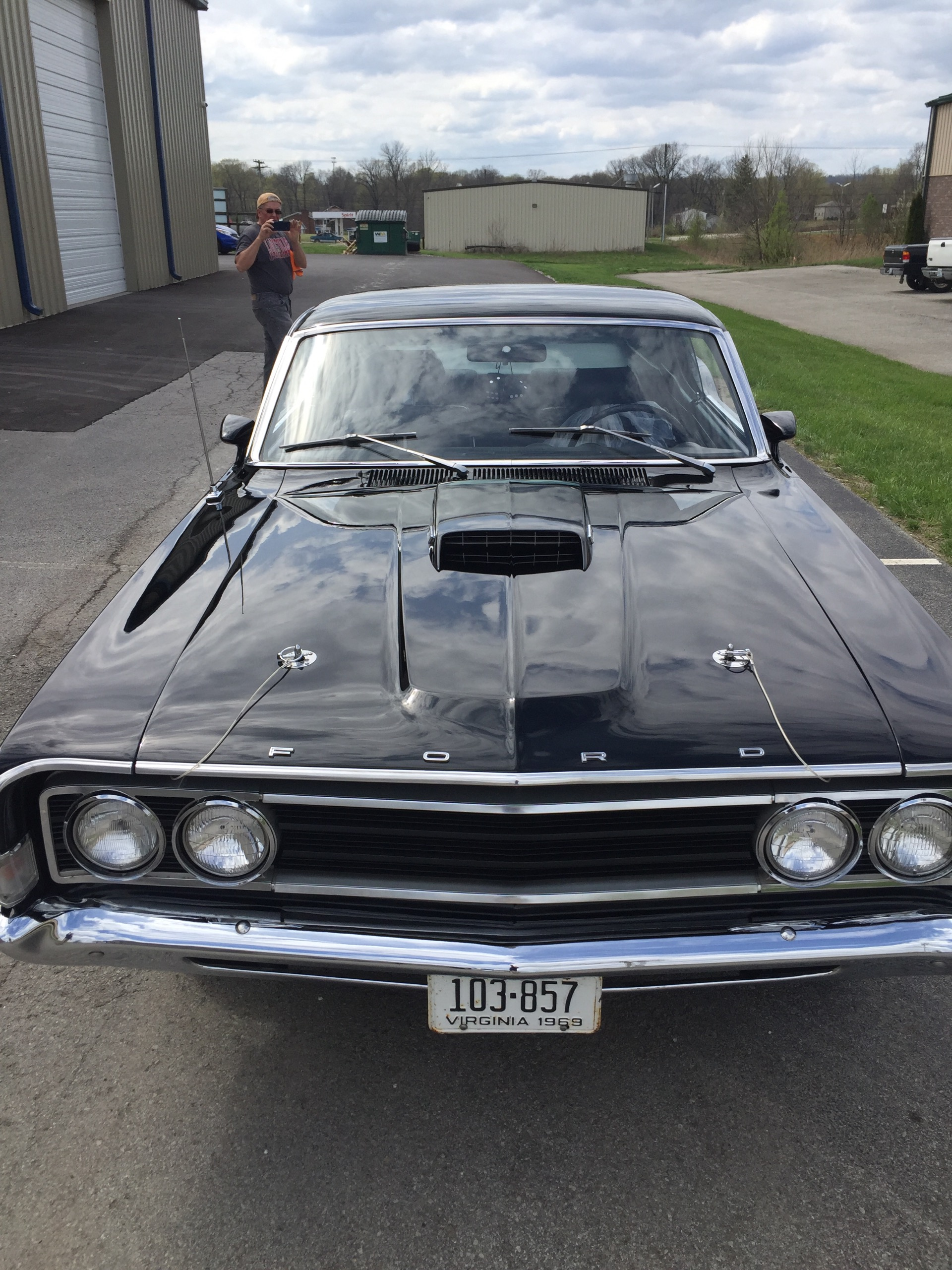 Used 1969 Ford Torino -428 COBRA JET-NUMBERS MATCHING-BLACK ON BLACK | Mundelein, IL