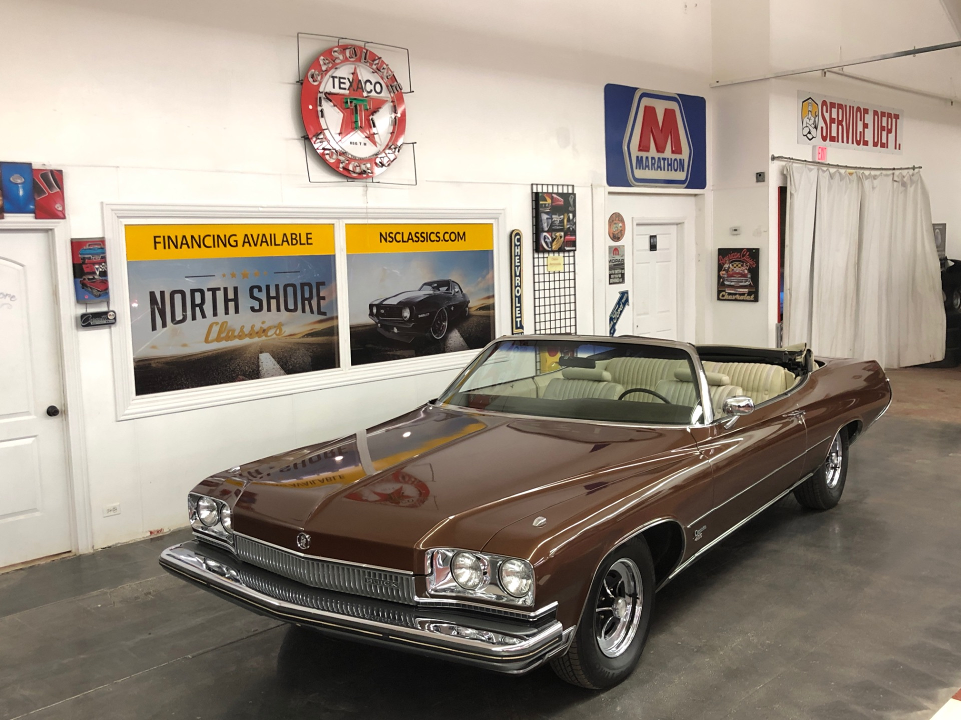 Used 1973 Buick Centurion -3 OWNER FROM THE SOUTH-CONVERTIBLE ORIGINAL CLASSIC-VIDEO | Mundelein, IL