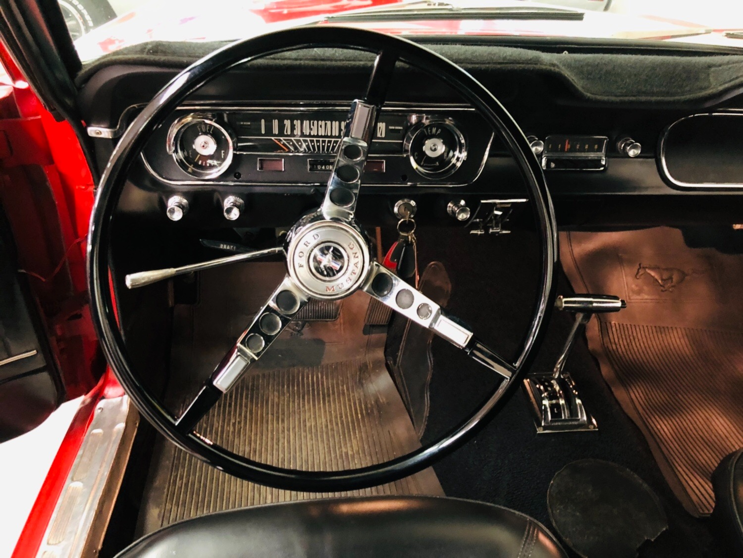 Used 1965 Ford Mustang -CALIFORNIA PONY BLACK PLATE ORIGINAL-AUTOMATIC-NO RUST-SEE VIDEO   Mundelein, IL