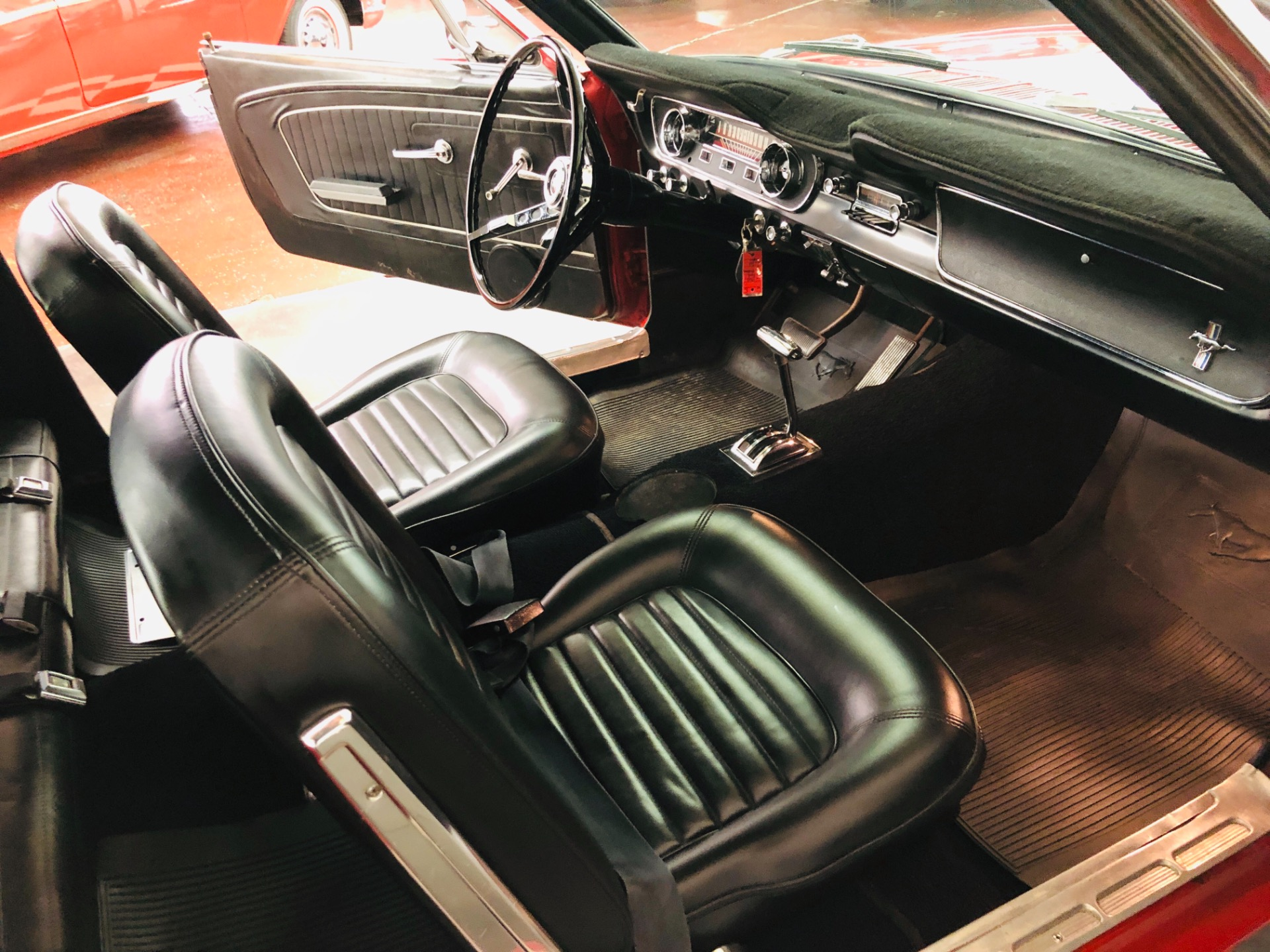 Used 1965 Ford Mustang -CALIFORNIA PONY BLACK PLATE ORIGINAL-AUTOMATIC-NO RUST-SEE VIDEO | Mundelein, IL
