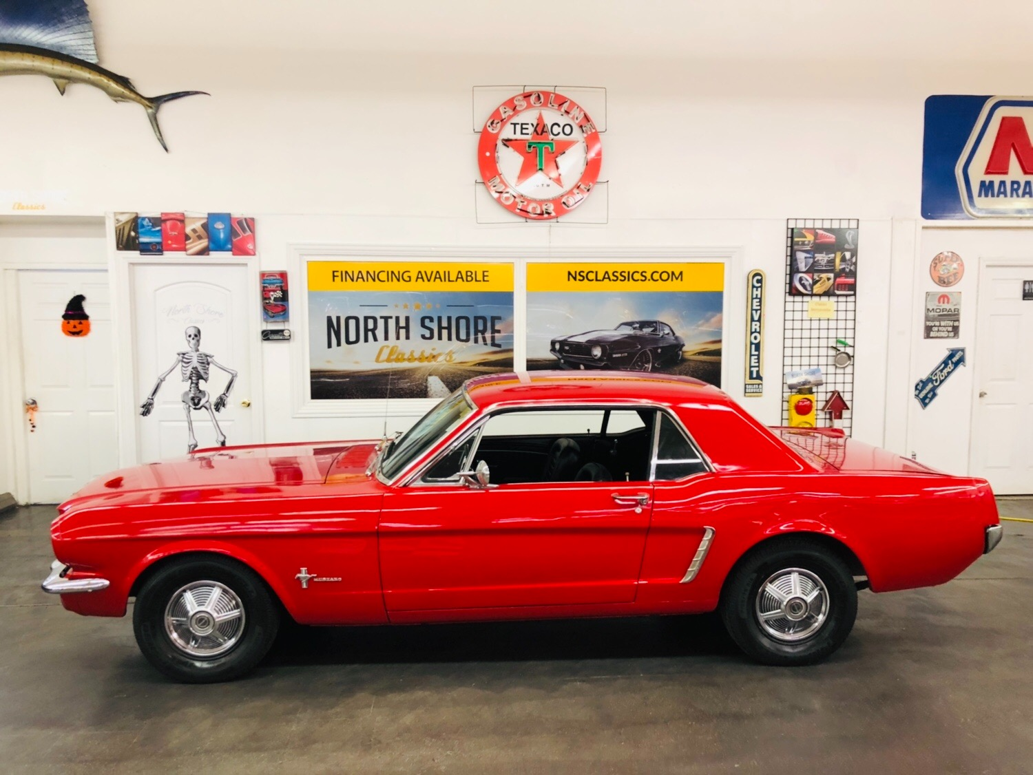 Used 1965 Ford Mustang -CALIFORNIA PONY BLACK PLATE ORIGINAL-AUTOMATIC-NO RUST- | Mundelein, IL