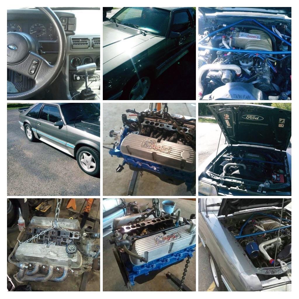 Used 1989 Ford Mustang GT FOX BODY HATCHBACK-REBUILT DRIVETRAIN-RUNS LIKE NEW-SEE VIDEO   Mundelein, IL