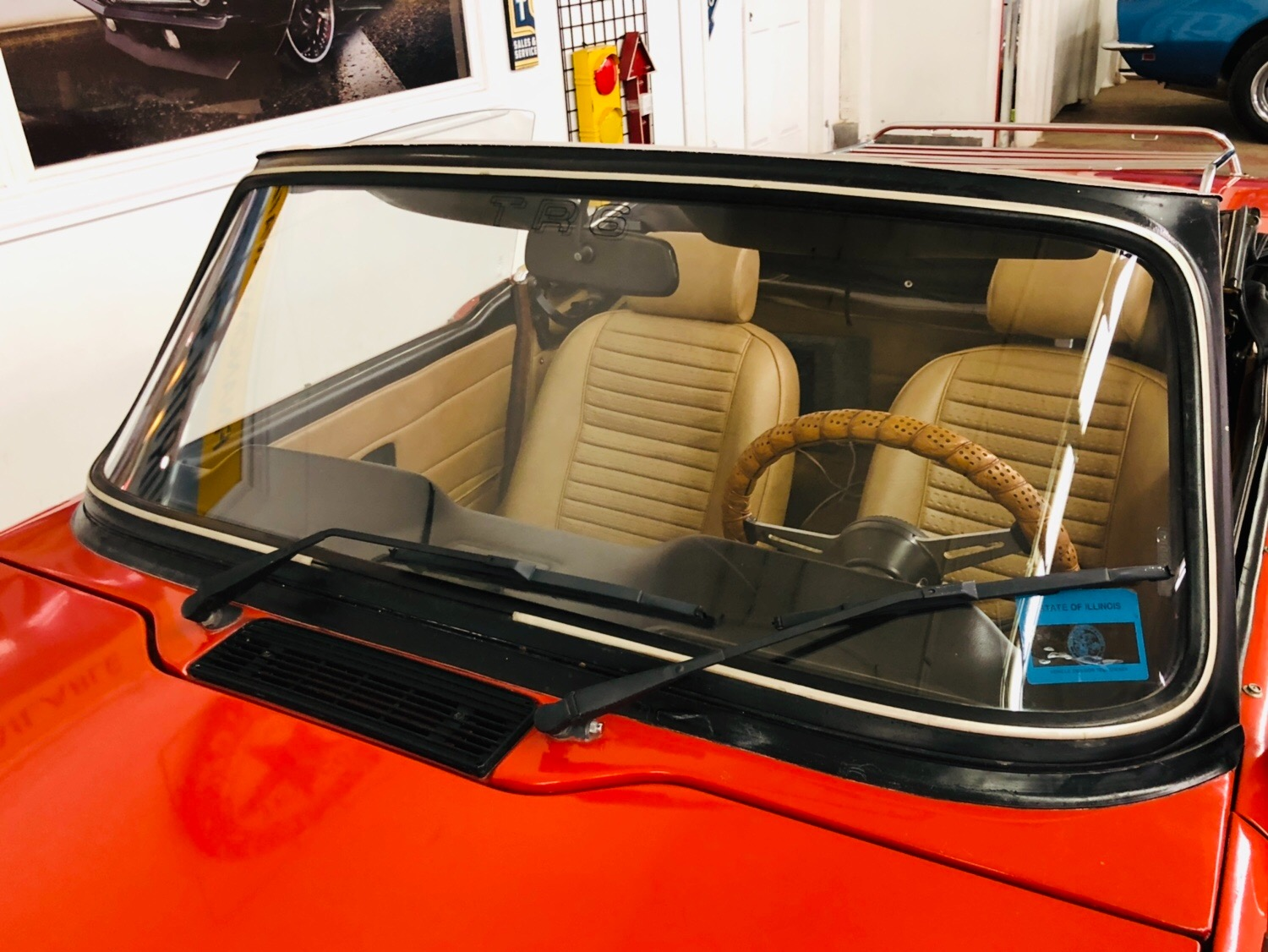 Used 1976 Triumph TR6 -WELL MAINTAINED ROADSTER-GOOD OVERALL CONDITION-SEE VIDEO   Mundelein, IL