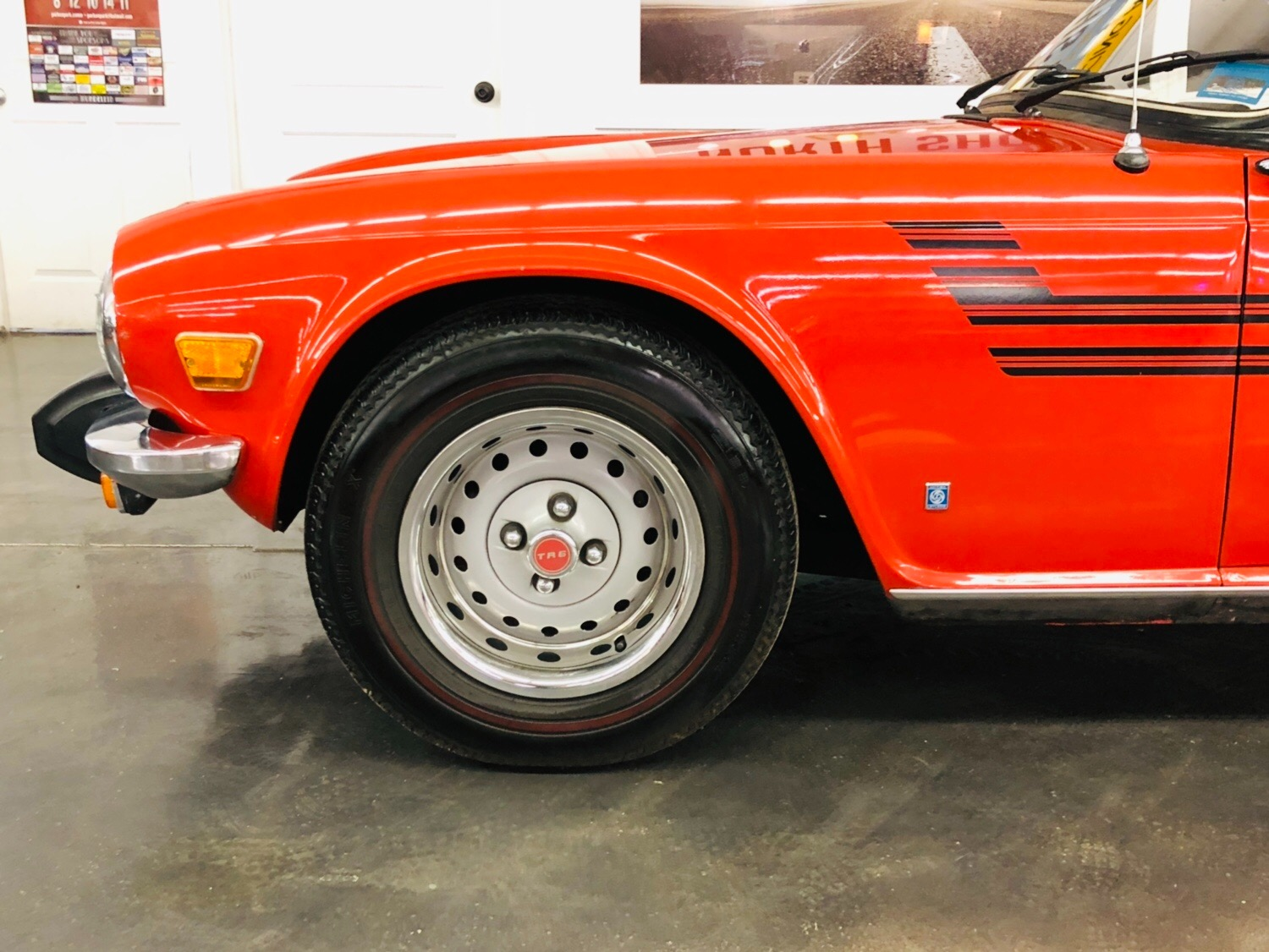 Used 1976 Triumph TR6 -WELL MAINTAINED ROADSTER-GOOD OVERALL CONDITION-SEE VIDEO | Mundelein, IL