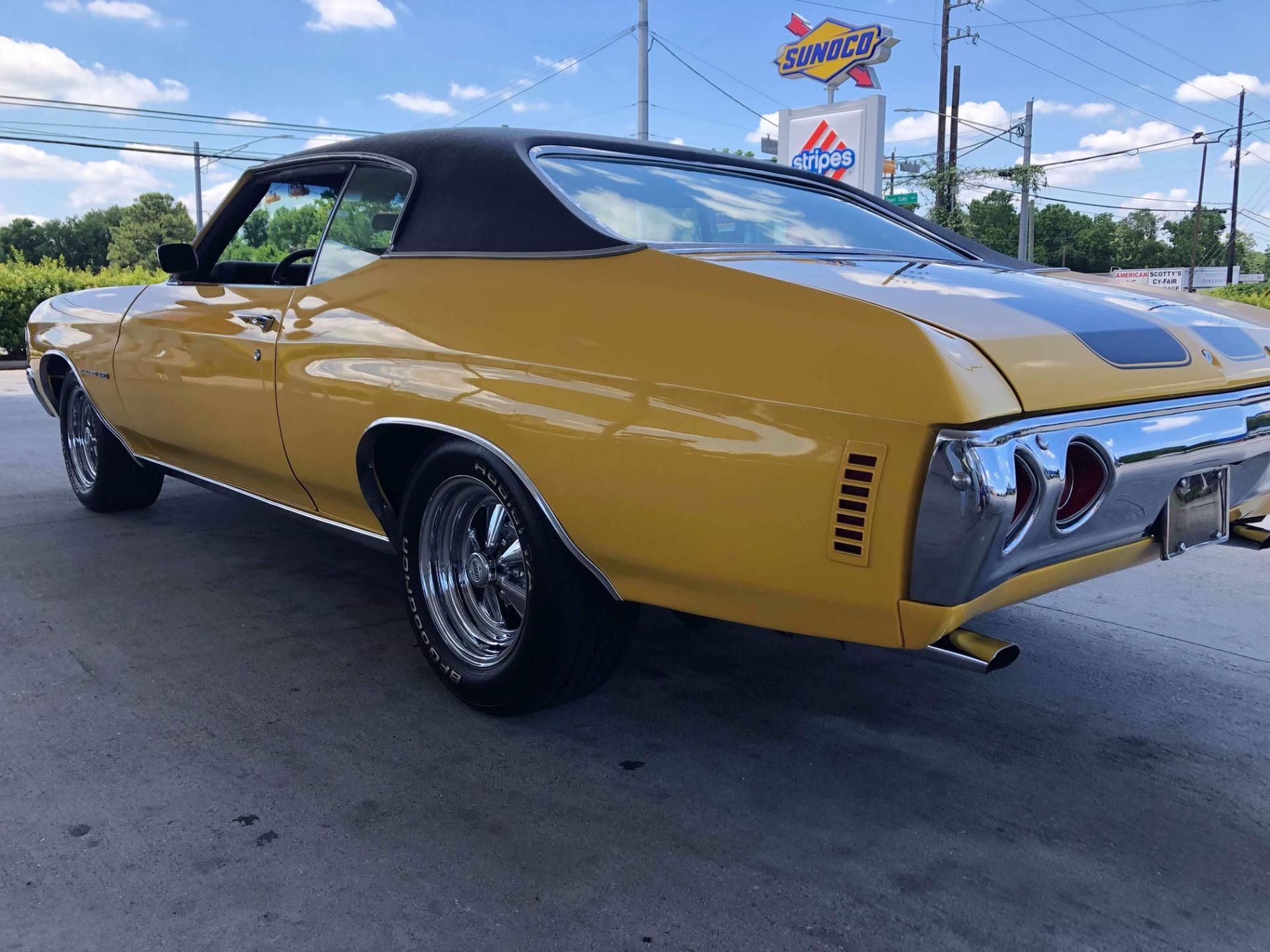 Used 1971 Chevrolet Chevelle -AC-NUMBERS MATCHING MALIBU-TEXAS MUSCLE CAR-RESTORED | Mundelein, IL