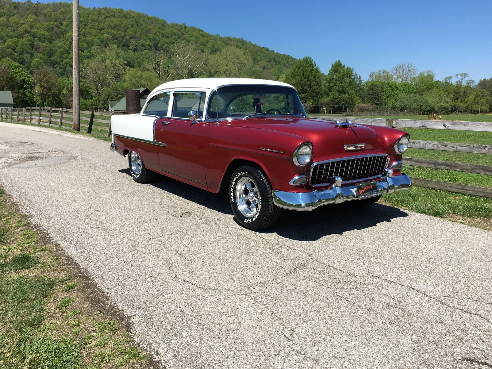 Used 1955 Chevrolet Bel Air/150/210 -RESTORED-COLD AC-SOLID TRI FIVE-SEE VIDEO | Mundelein, IL