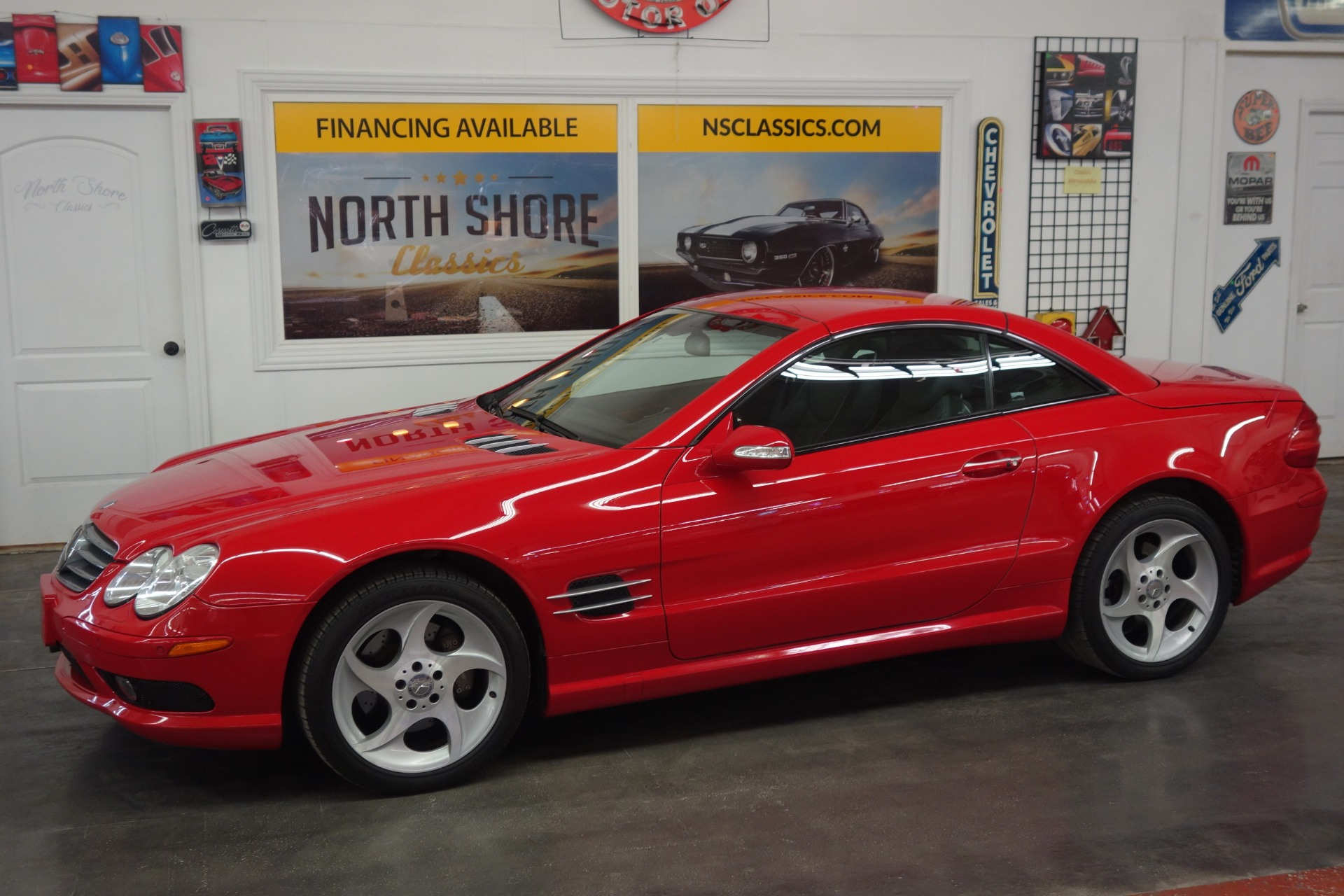 Used 2003 Mercedes Benz SL-Class -SL 500-2 OWNER-ROADSTER-CLEAN CARFAX REPORT-SEE VIDEO | Mundelein, IL