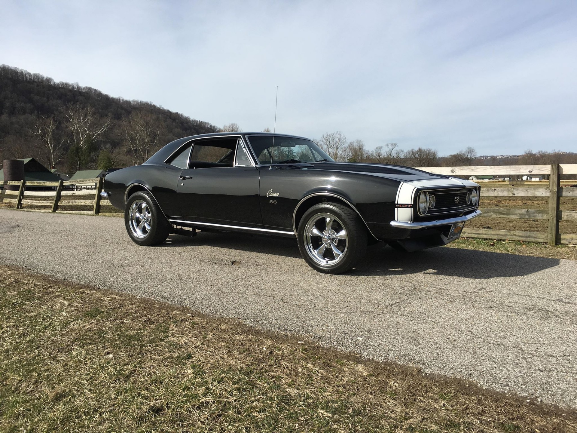 Used 1967 Chevrolet Camaro -SS-4 SPEED-SLICK BLACK PAINT-SEE VIDEO | Mundelein, IL