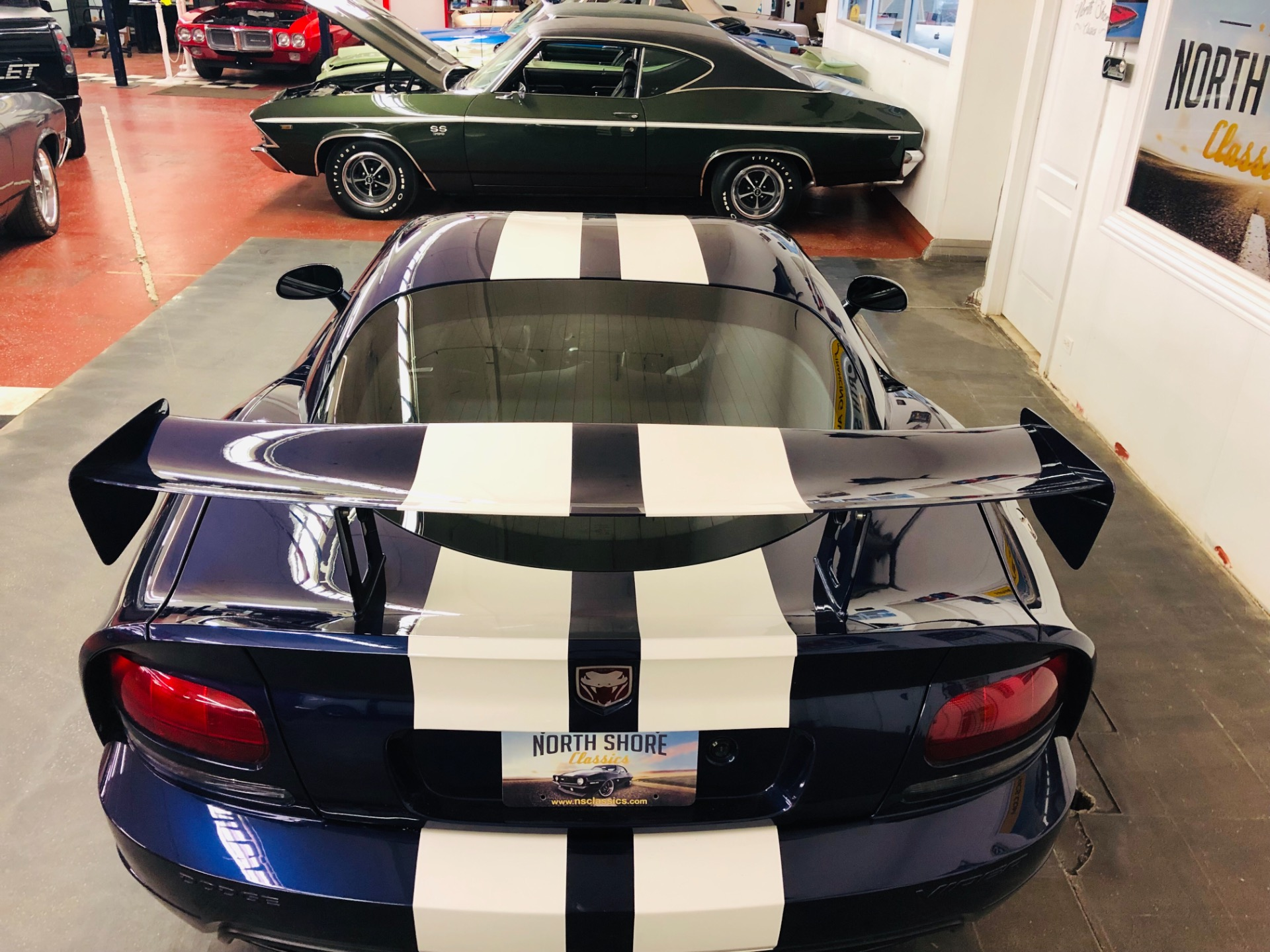 Used 2008 Dodge Viper -SRT-10-LIKE NEW-ONE OWNER-LOW MILES-CLEAN CARFAX-SPORT COUPE- | Mundelein, IL