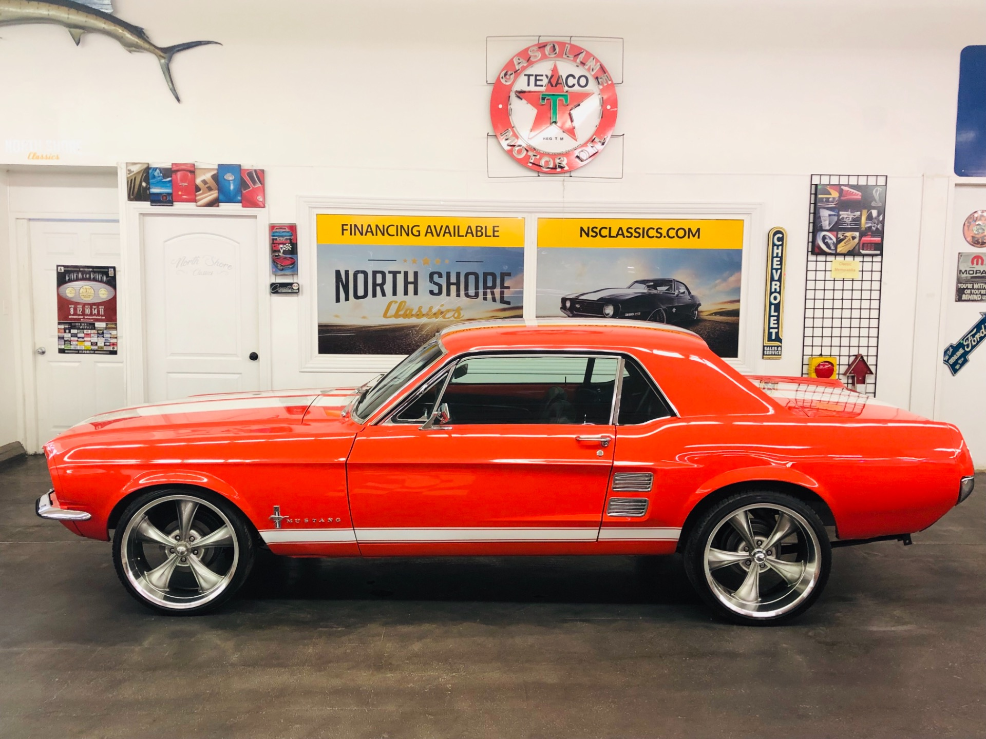 Used 1967 Ford Mustang -NICE PAINT- V8 ENGINE-C CODE 289 WITH AC-SOLID CLASSIC-SEE VIDEO | Mundelein, IL