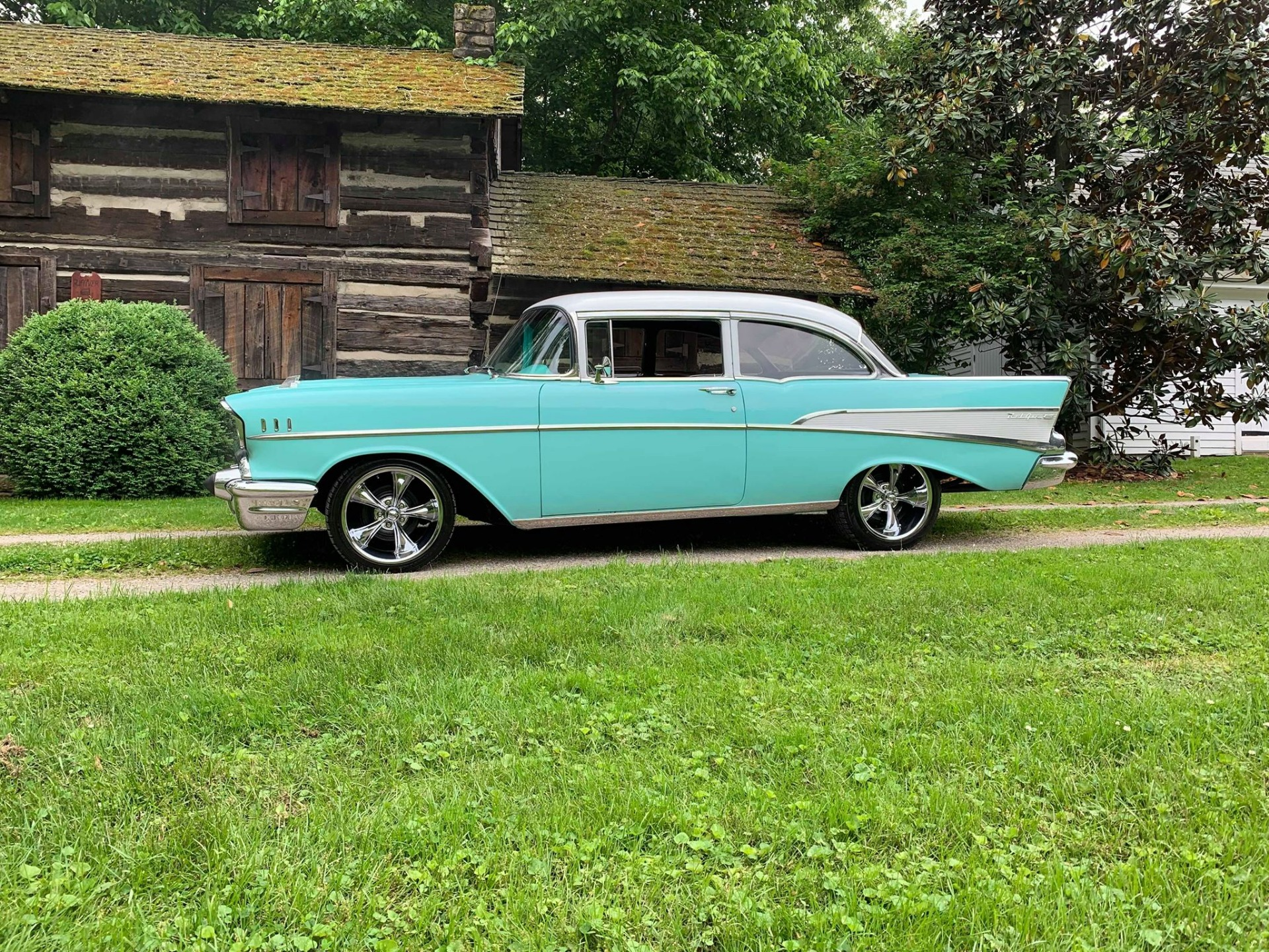 Used 1957 Chevrolet Bel Air -2 Post-Clean Driver-SEE VIDEO | Mundelein, IL