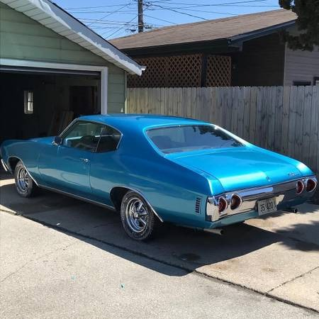 Used 1972 Chevrolet Chevelle -CLASSIC MUSCLE-SMALL BLOCK-AUTOMATIC-SEE VIDEO | Mundelein, IL