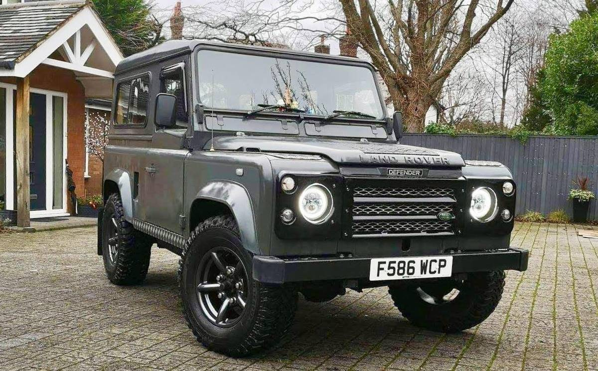 Used 1989 Land Rover Defender 90 -4X4-DIESEL ENGINE-MANUAL TRANS-A MUST SEE- | Mundelein, IL