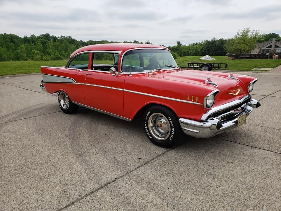 Used 1957 Chevrolet Bel Air -2 DOOR POST-CLEAN RELIABLE AMERICAN CLASSIC | Mundelein, IL