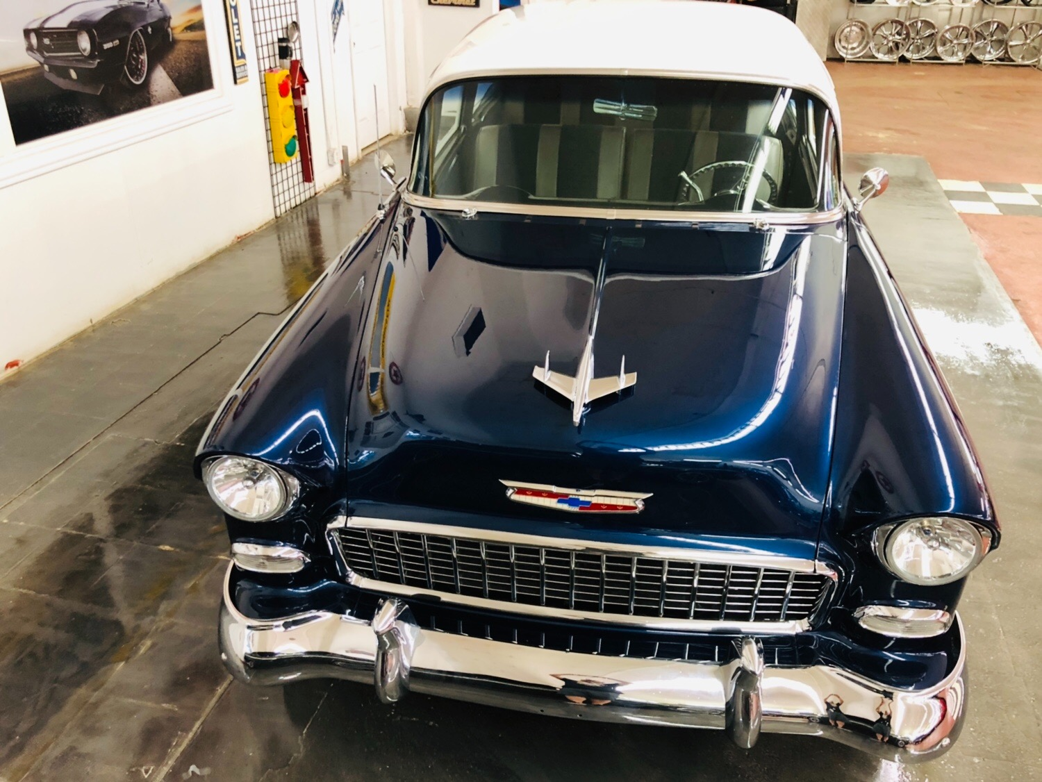 Used 1955 Chevrolet Bel Air -AMERICAN CLASSIC PRO TOURING RESTORED AC CUSTOM HOTROD VINTAGE-SEE VIDEO | Mundelein, IL