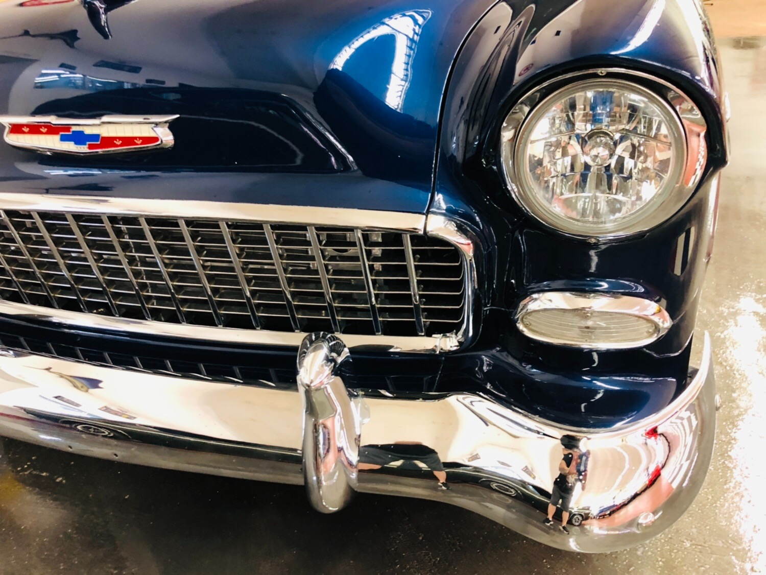 Used 1955 Chevrolet Bel Air/150/210 -AMERICAN CLASSIC PRO TOURING RESTORED AC CUSTOM HOTROD VINTAGE-SEE VIDEO | Mundelein, IL