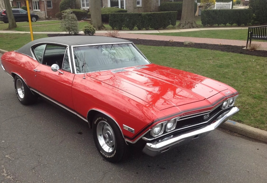 Used 1968 Chevrolet Chevelle -FACTORY 138 VIN SUPERSPORT 396 | Mundelein, IL