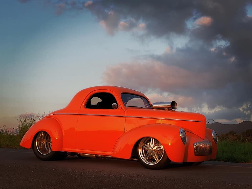 1941 Willys Coupe -PRO STREET SUPERCHARGED Stock # 25647KY