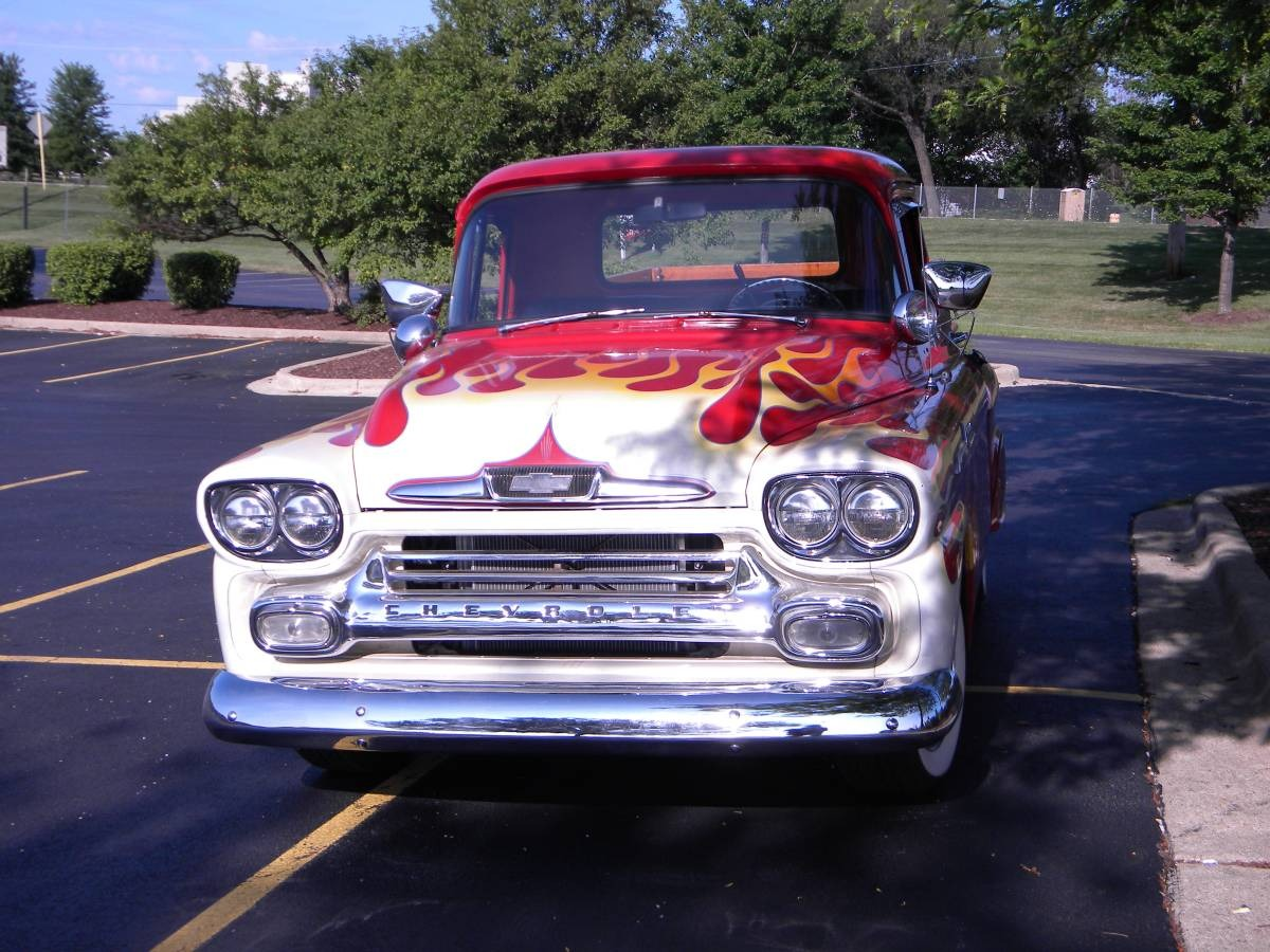 Used 1958 Chevy Pickup -Apache - Ready for Cruise Nights | Mundelein, IL
