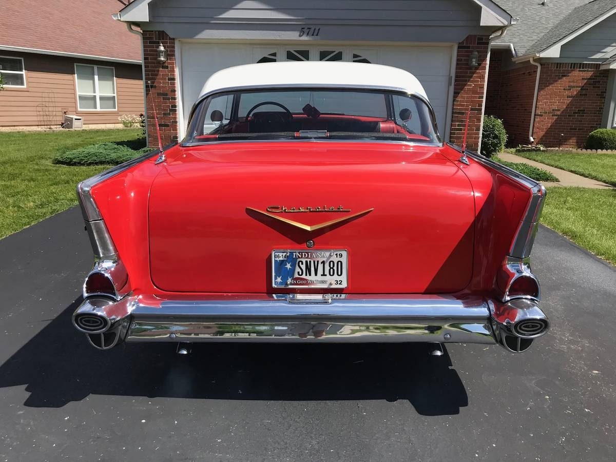 Used 1957 Chevrolet Bel Air/150/210 -4 DOOR HARDTOP - BEAUTIFUL CRUISER - FAMILY HOTROD | Mundelein, IL