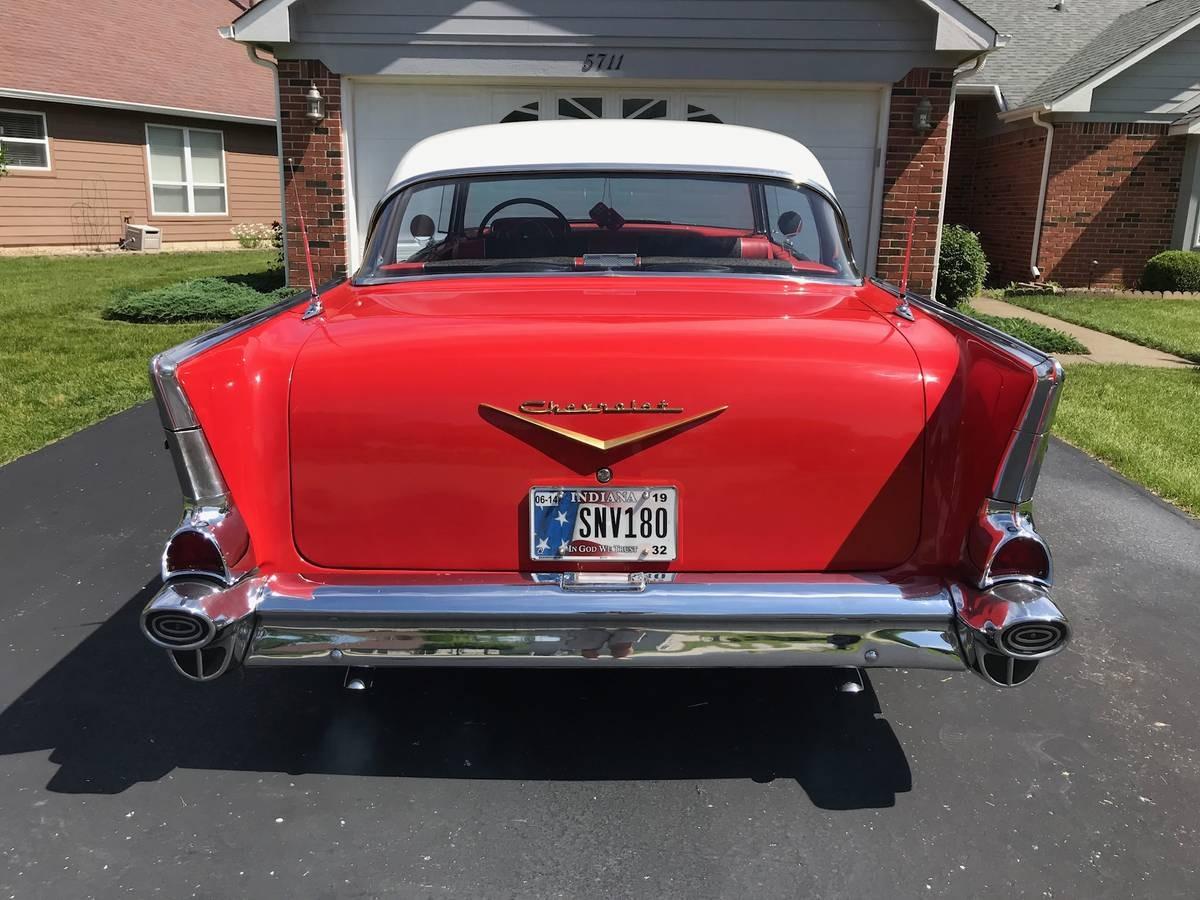 Used 1957 Chevrolet Bel Air/150/210 -4 DOOR HARDTOP - BEAUTIFUL CRUISER - FAMILY HOTROD | Mundelein, IL