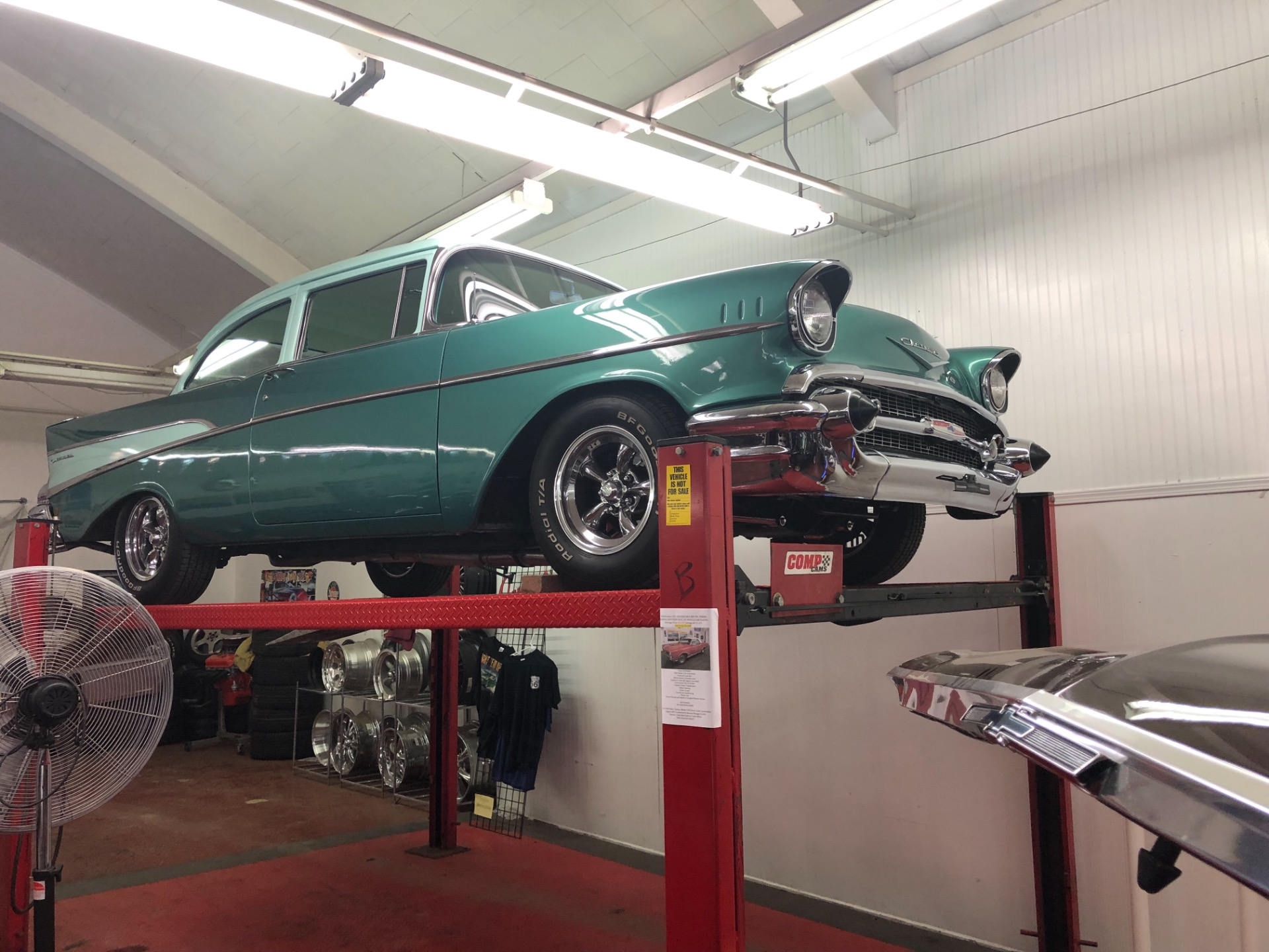 Used 1957 Chevrolet Bel Air/150/210 -WELL MAINTAINED HEIDTS SUSPENSION-AUTOMATIC-SEE VIDEO | Mundelein, IL
