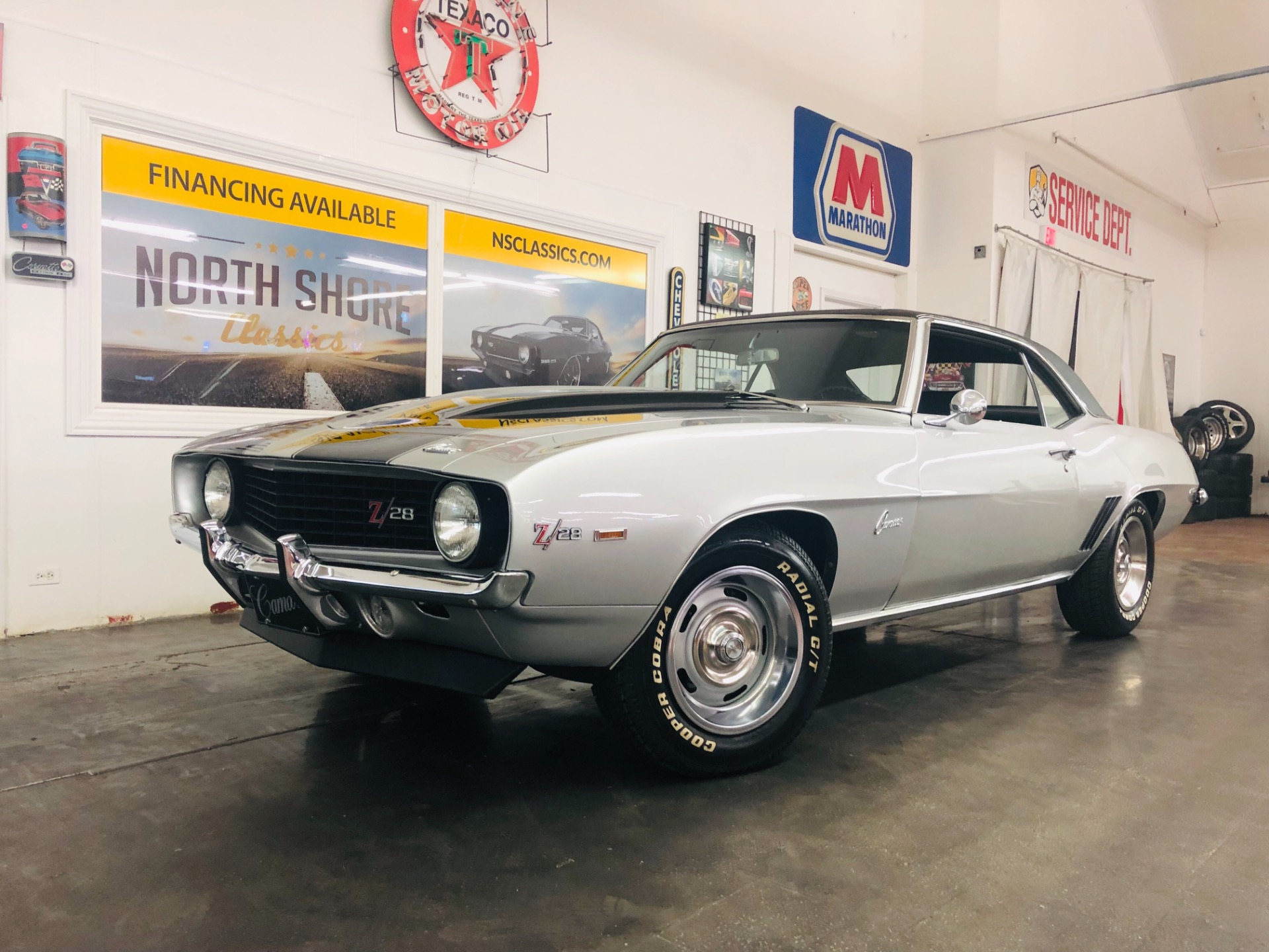 Used 1969 Chevrolet Camaro -CORTEZ SILVER NICE MUSCLE CAR-SEE VIDEO | Mundelein, IL