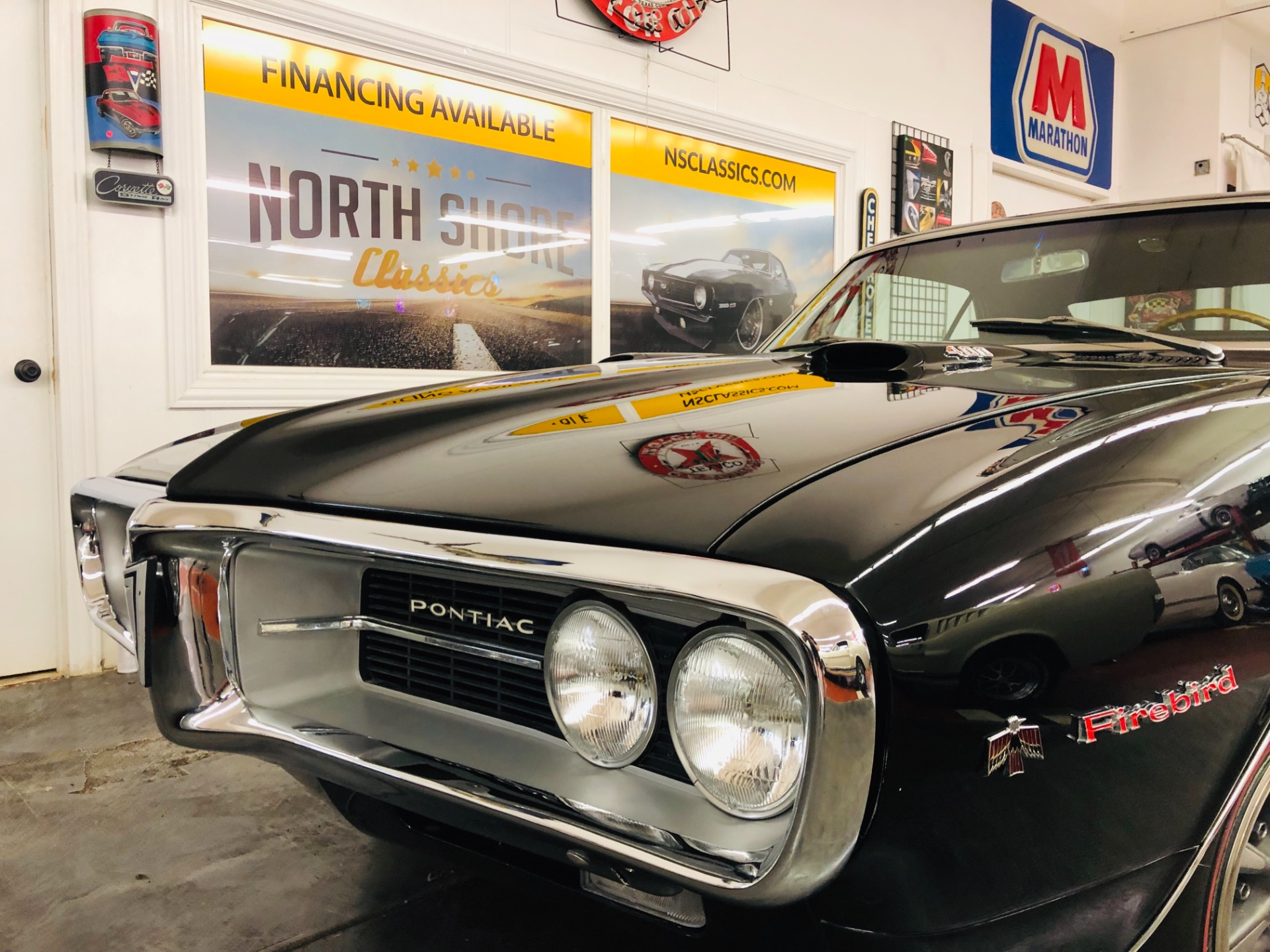 Used 1967 Pontiac Firebird -NICE SLICK BLACK ON BLACK MUSCLE CAR | Mundelein, IL