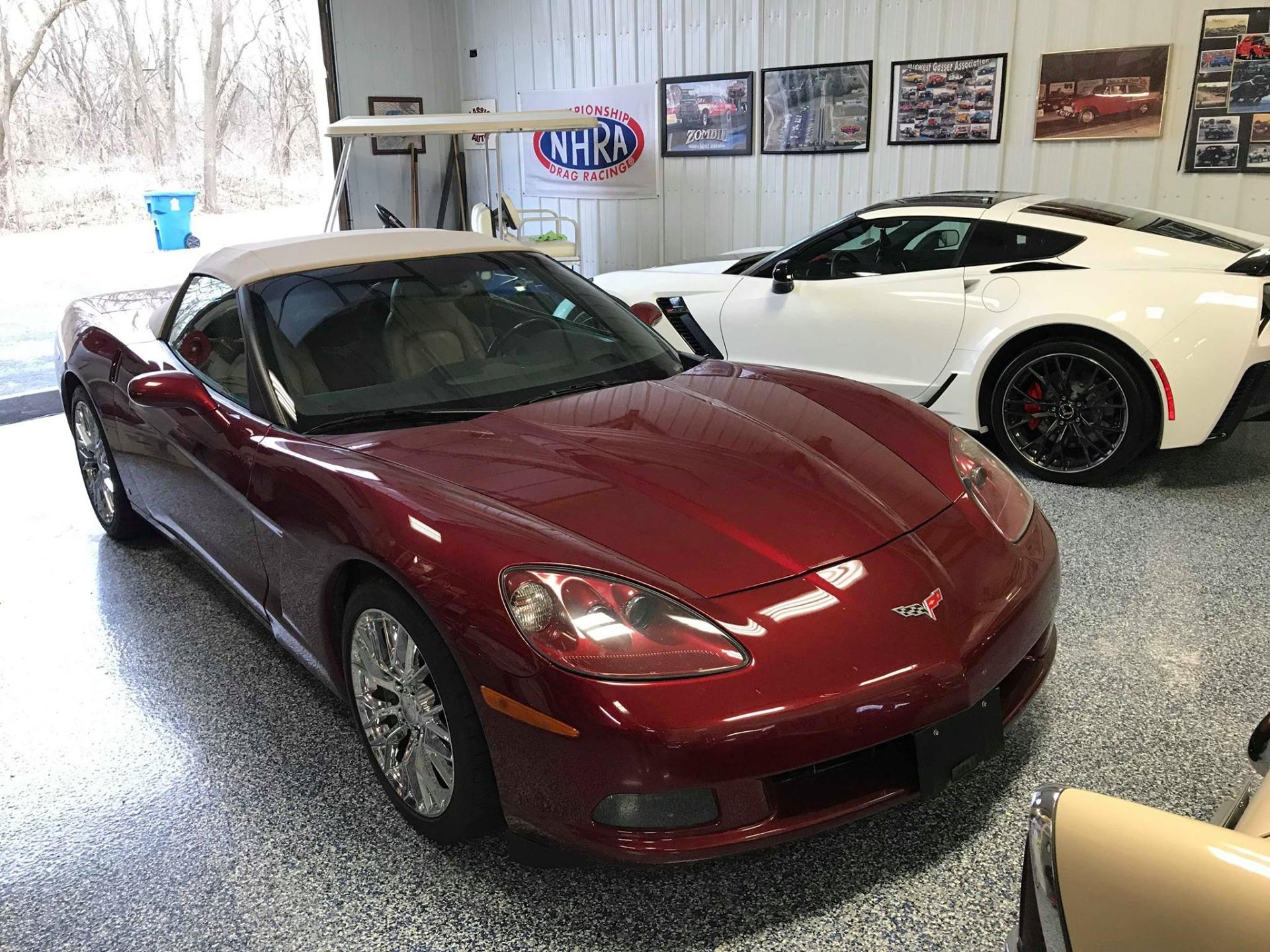 Used 2007 Chevrolet Corvette -SUPER NICE CONVERTIBLE SUMMER FUN- | Mundelein, IL