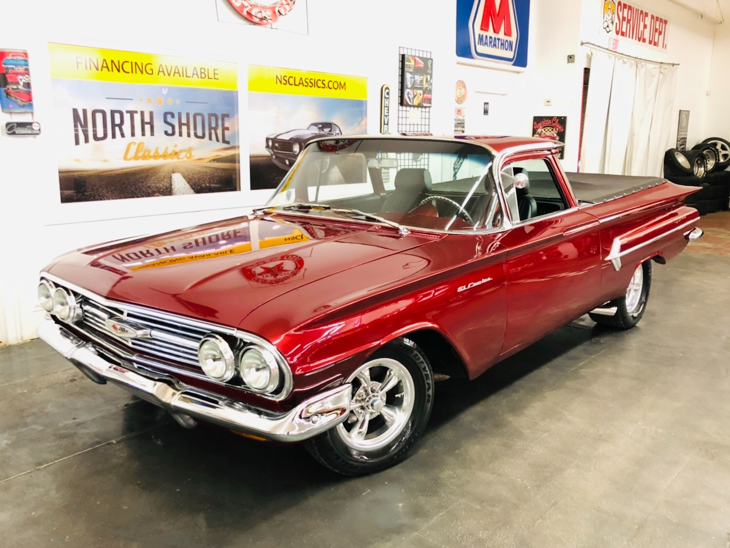 Used 1960 Chevrolet El Camino -FACTORY 348 - NICE RESTO MOD- CUSTOM PAINT-SEE VIDEO | Mundelein, IL