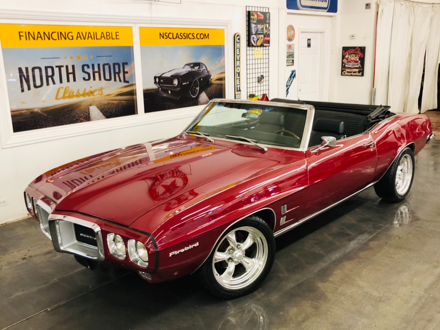 Used 1969 Pontiac Firebird -PHS PAPERWORK 350-AUTO CONVERTIBLE-SEE VIDEO | Mundelein, IL