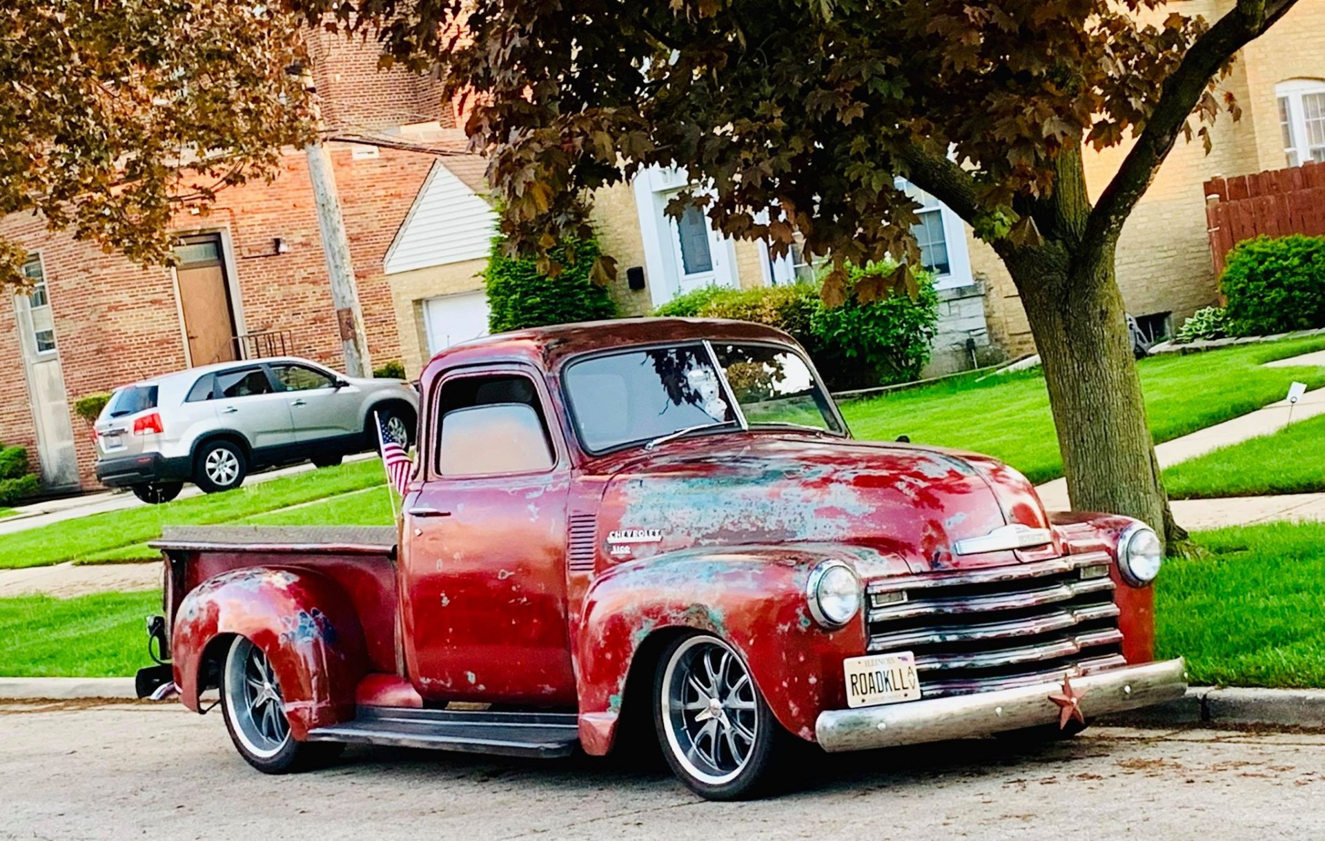 Used 1950 Chevrolet Pickup 3100 5 Window Patina Fuel Injected Pro touring | Mundelein, IL