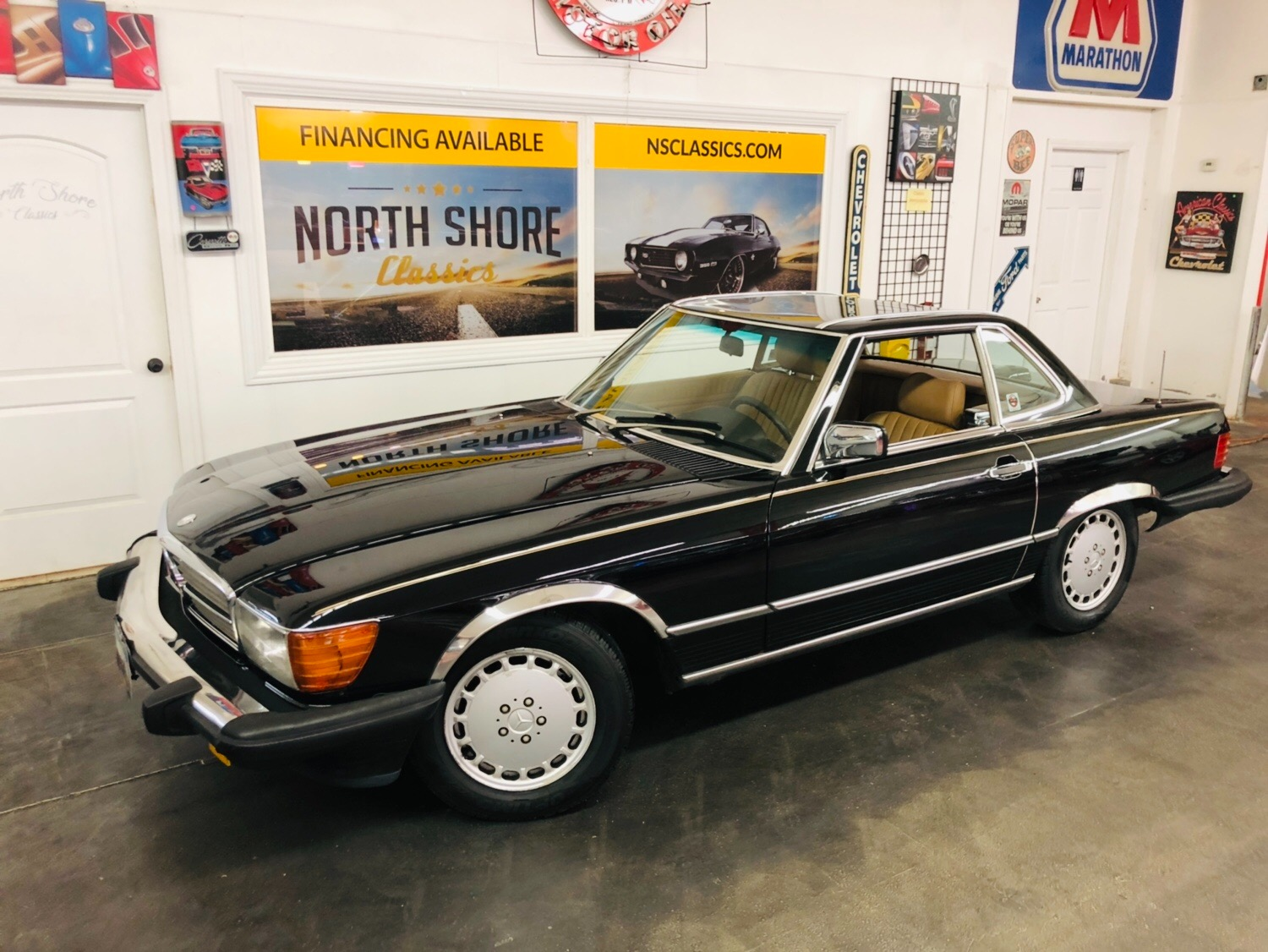 Used 1987 Mercedes Benz 560-Class 560 SL-SEE VIDEO | Mundelein, IL